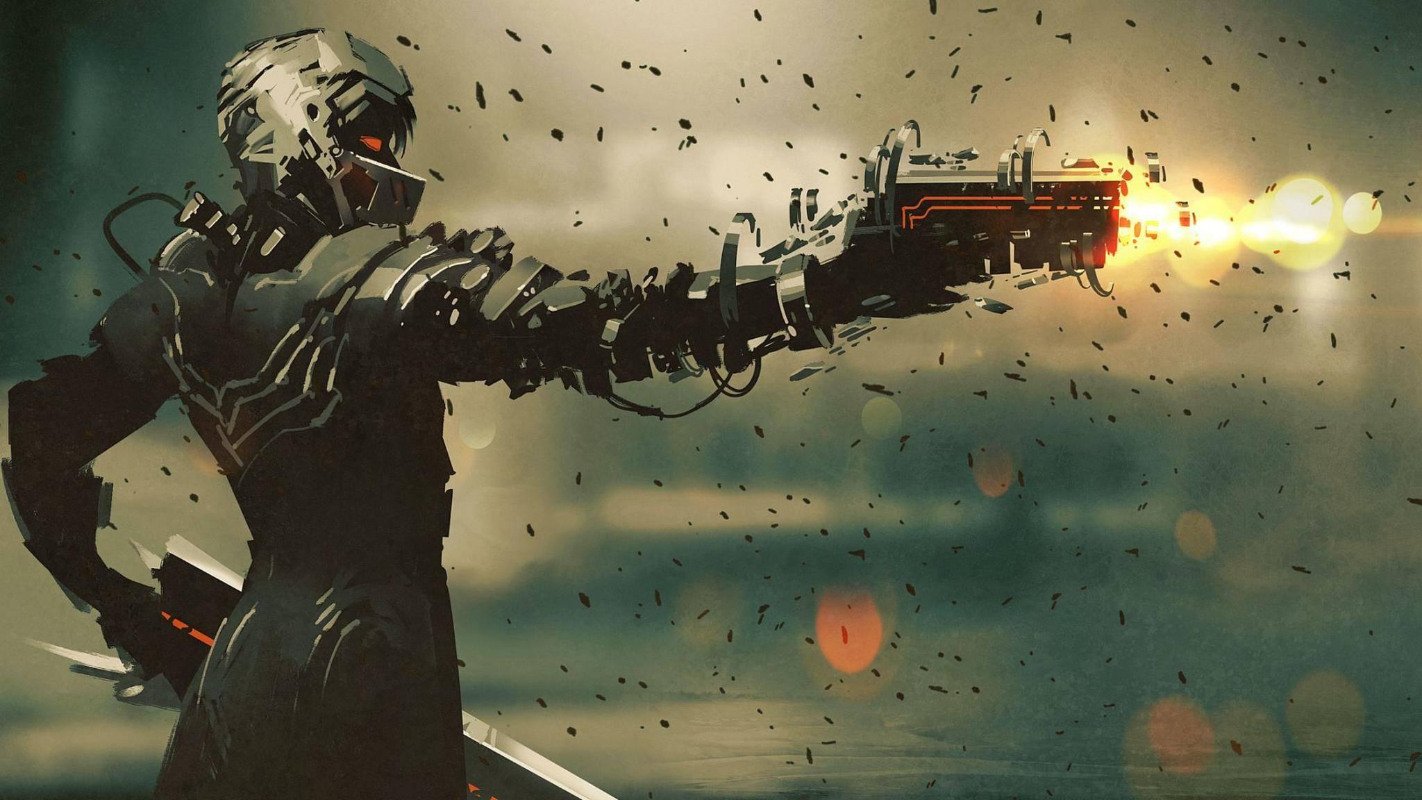 """Coole Action im Sci-Fi-Look verspricht die Verfilmung des Cyberpunk-Romans """"Neuromancer""""."""