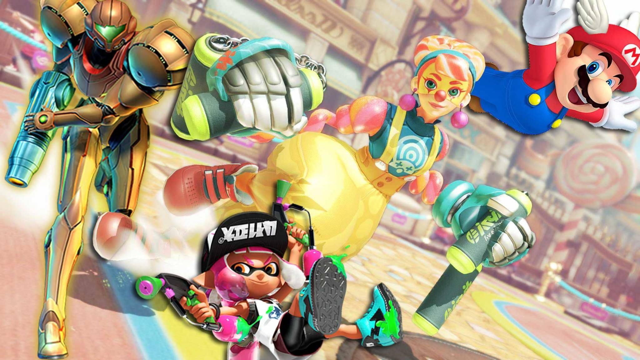 Nintendo ist auf der Gamescom mit einem großen Spieleprogramm vertreten.