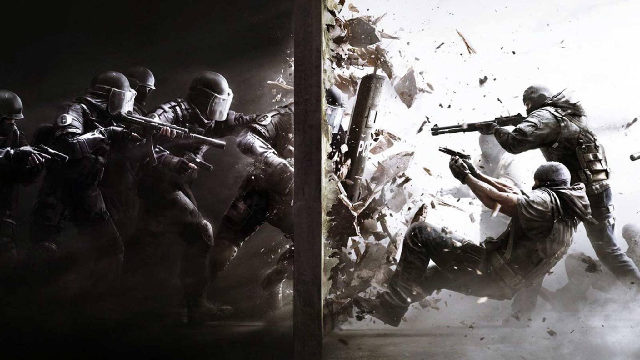 """""""Rainbow Six: Siege"""" schickt die Spieler bald wohl auch gegen Zombies ins Feld."""