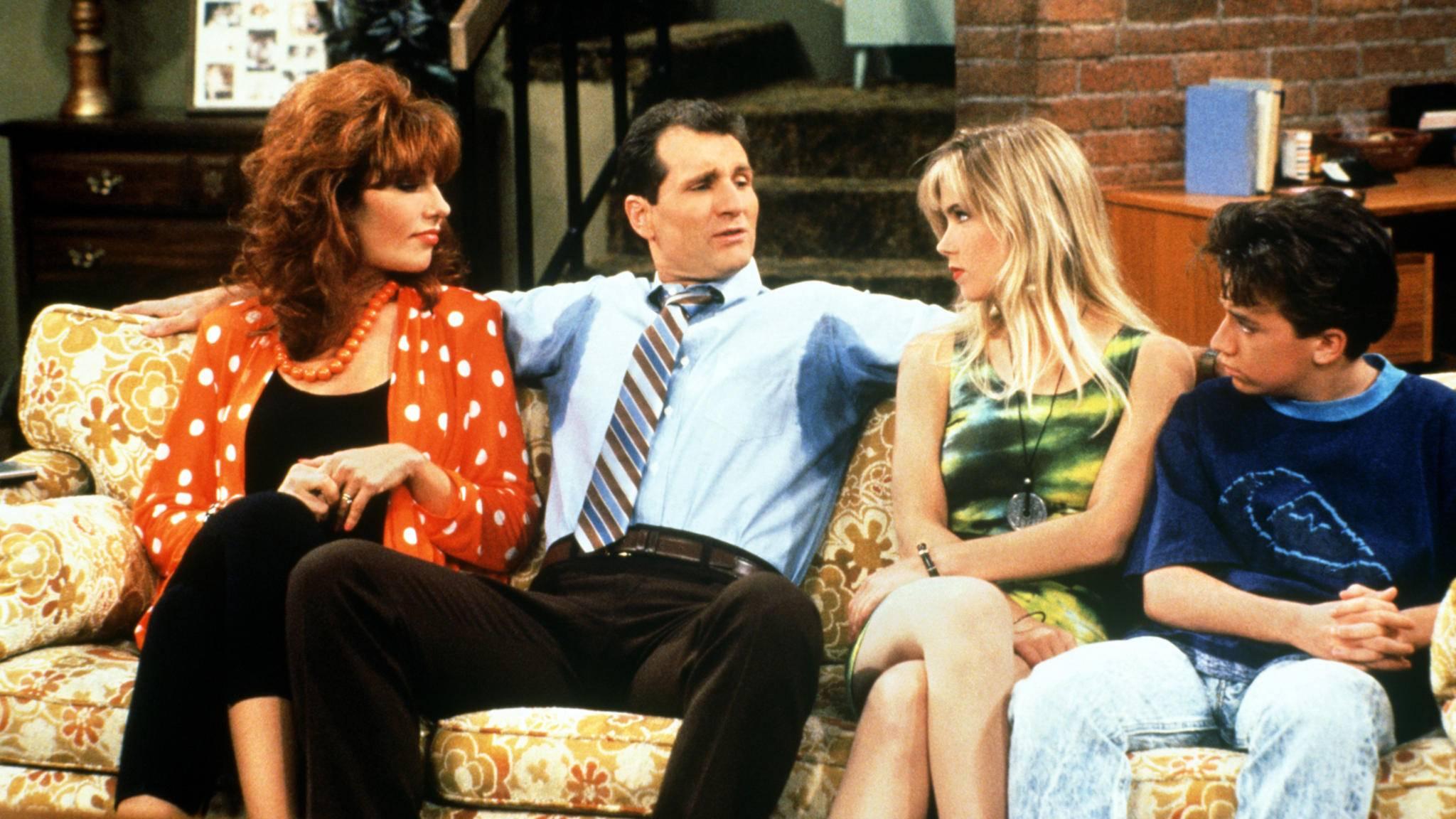 """Wie die Zeit vergeht: Vor fast 20 Jahren lief die letzte Episode von """"Eine schrecklich nette Familie""""."""
