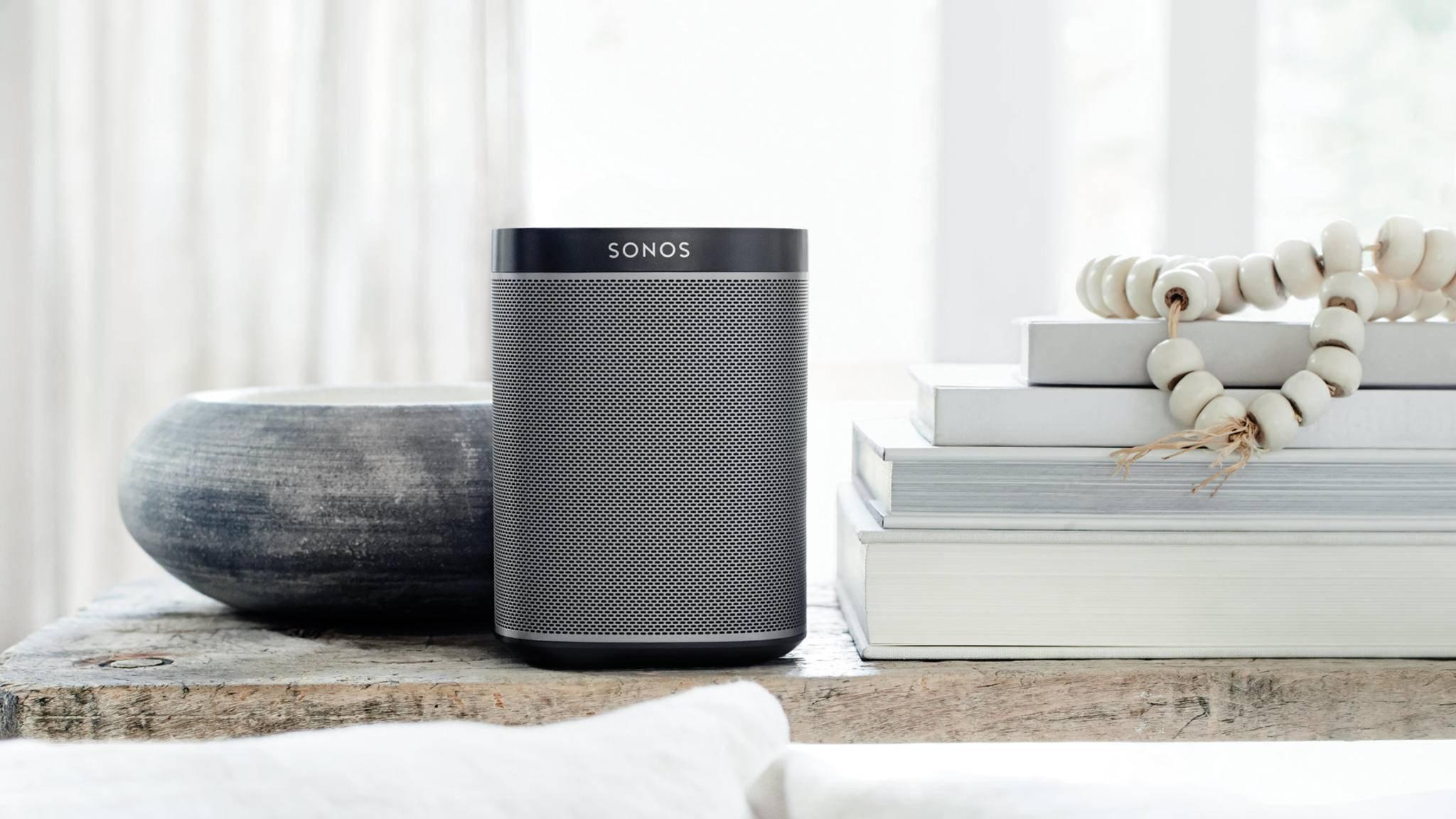 Sonos begrüßt den Apple HomePod.