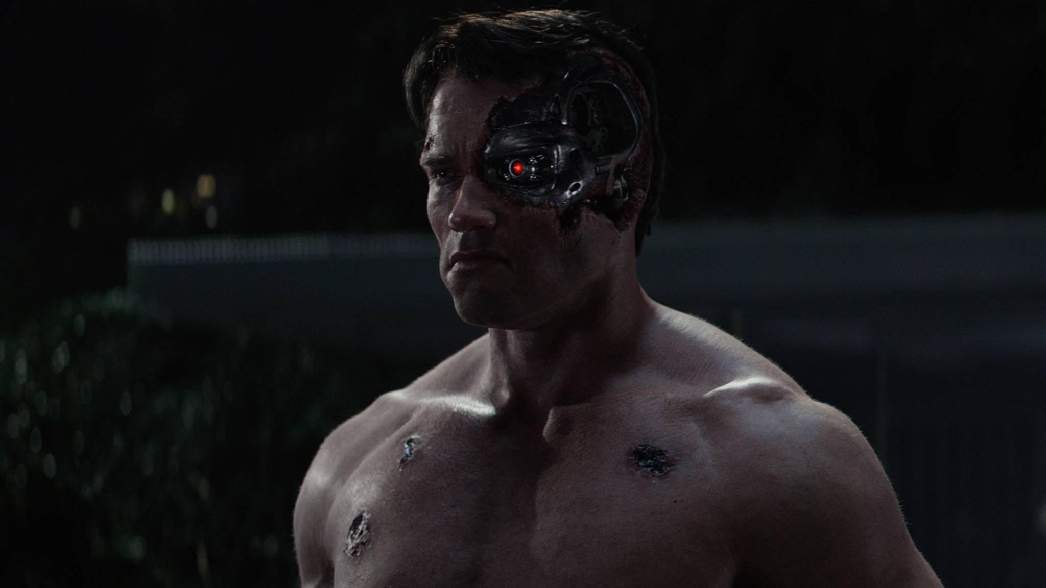 """In """"Terminator 6"""" wird man T-800 seine langen Dienstjahre wohl deutlich ansehen."""