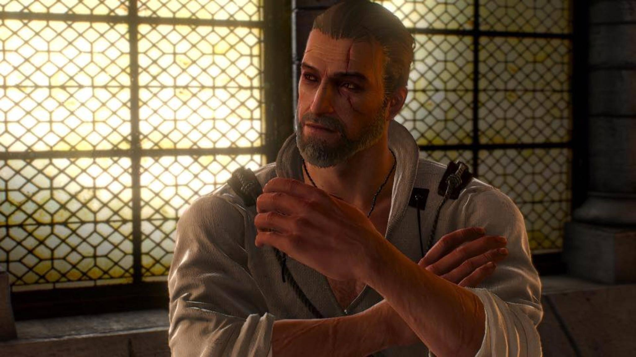 """Im """"The Witcher""""-Malbuch schwingen Geralt-Fans ausnahmsweise mal Stift statt Schwert."""