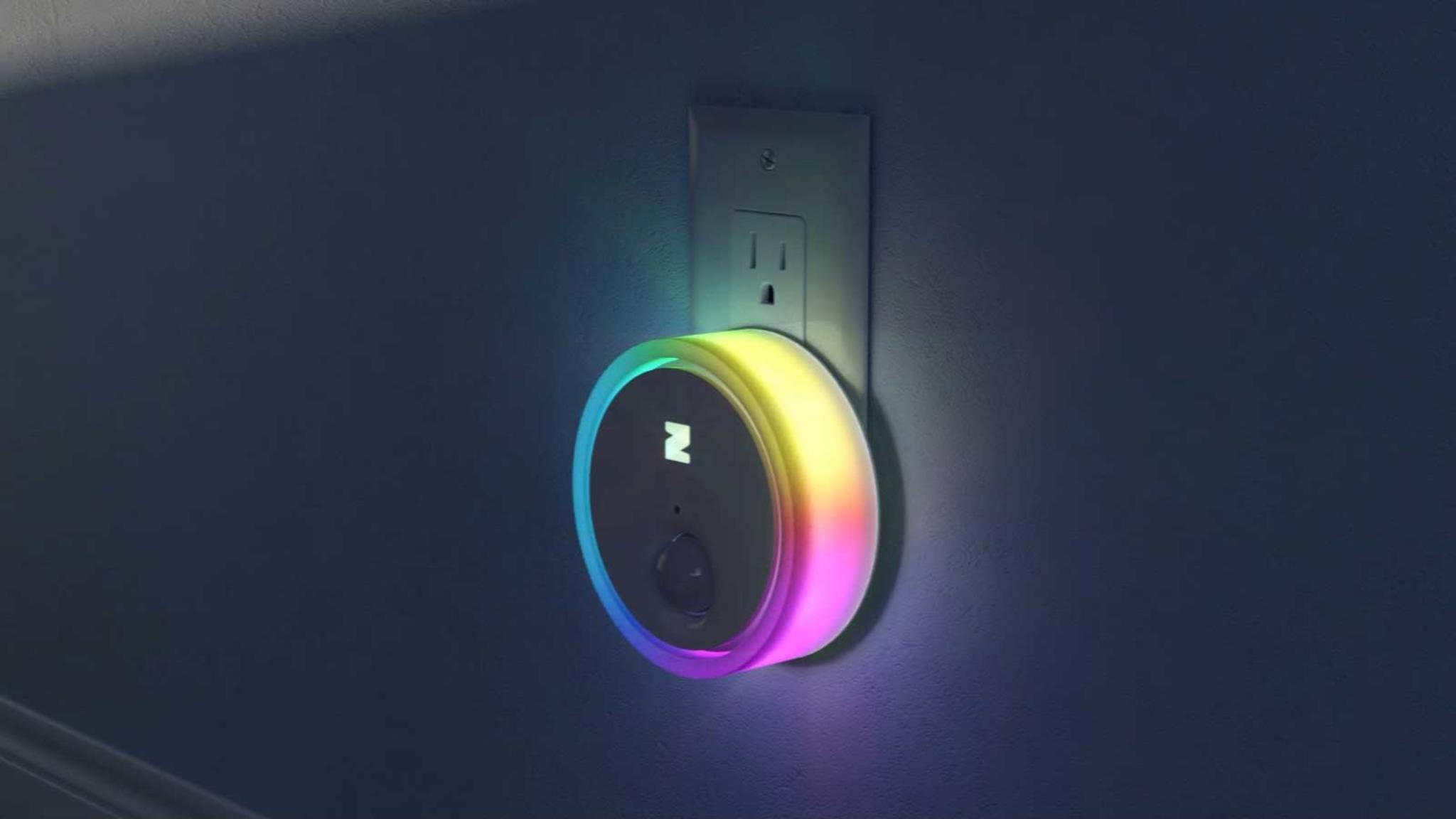 ZING kann dank zwölf Leuchtdioden über vier Milliarden Farben darstellen.