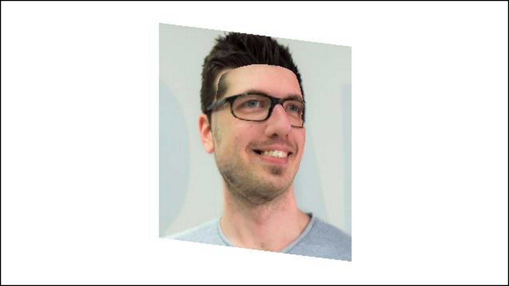 Eine kostenlose Software macht Fotos zu 3D-Gesichtern.