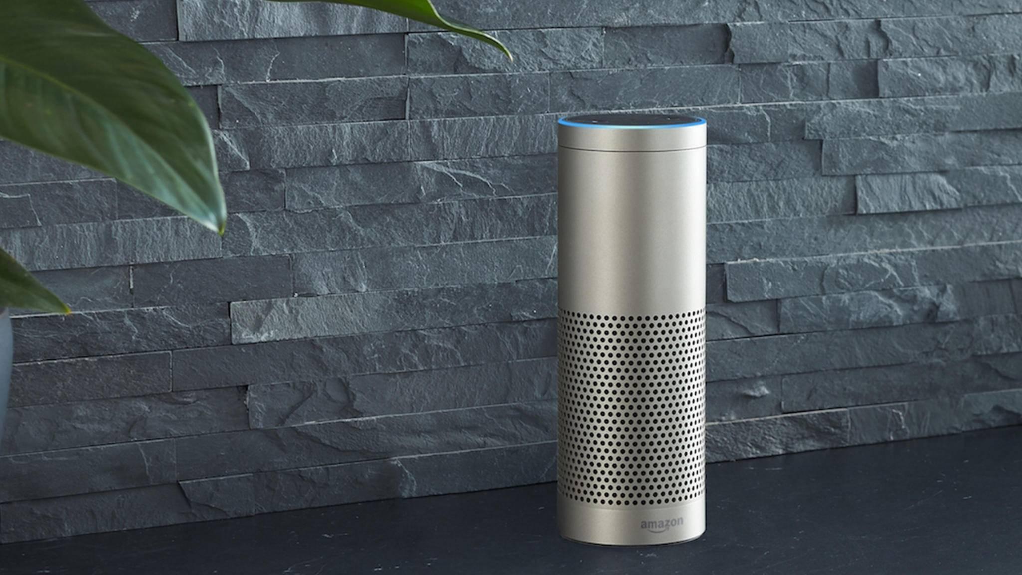 Noch brauchen die Echo-Lautsprecher ständig Strom. Verzichtet Amazon bei zukünftigen Lautsprechern vielleicht komplett auf das Stromkabel?