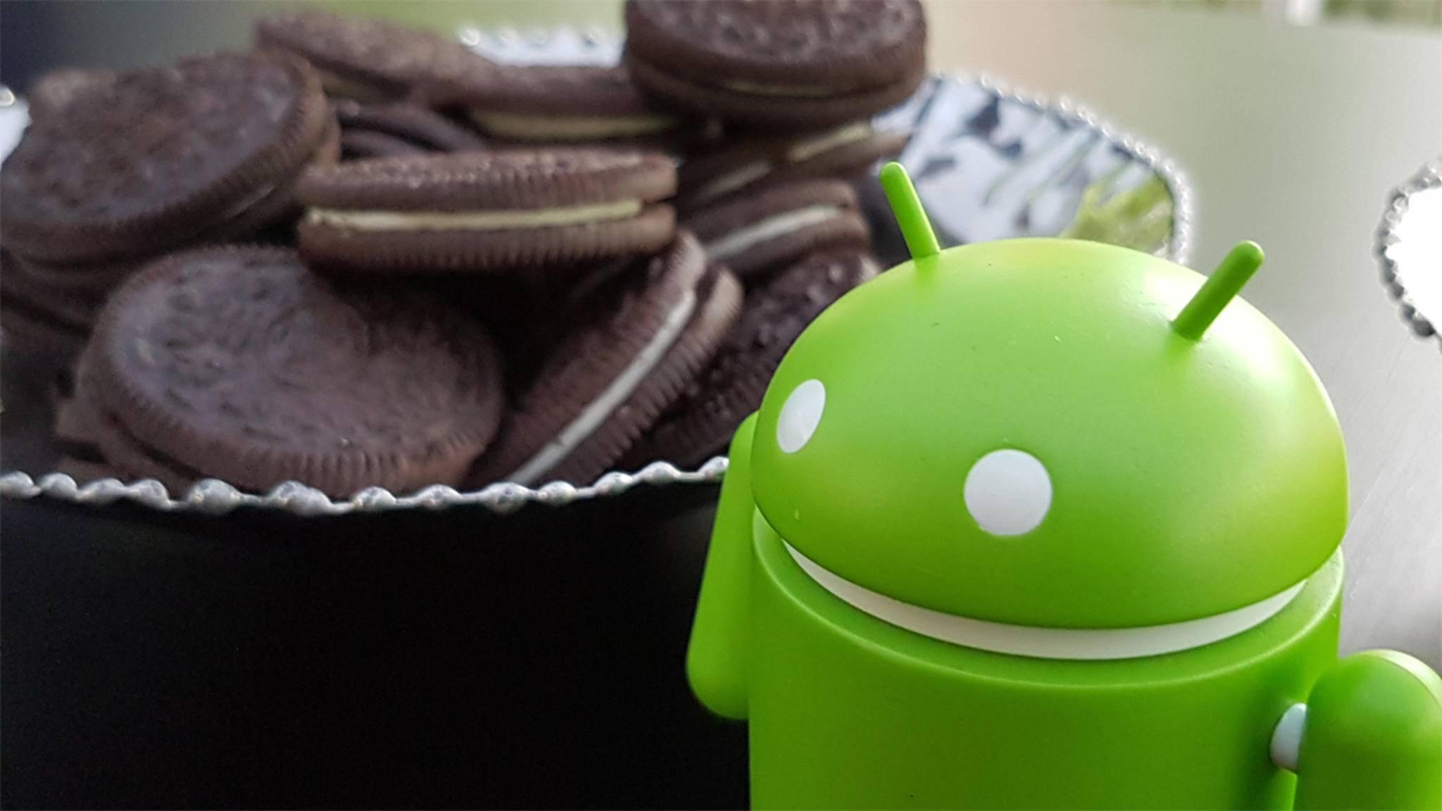 Android 8.0 Oreo dürfte bald auch auf den ersten Samsung-Smartphones einziehen.