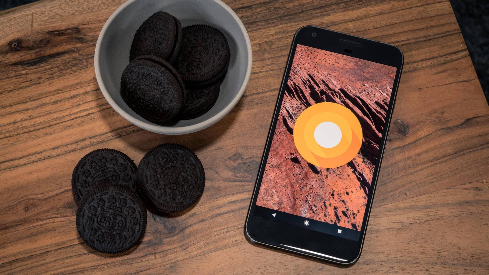 Die Verbreitung von Android 8.0 Oreo lässt zu wünschen übrig.