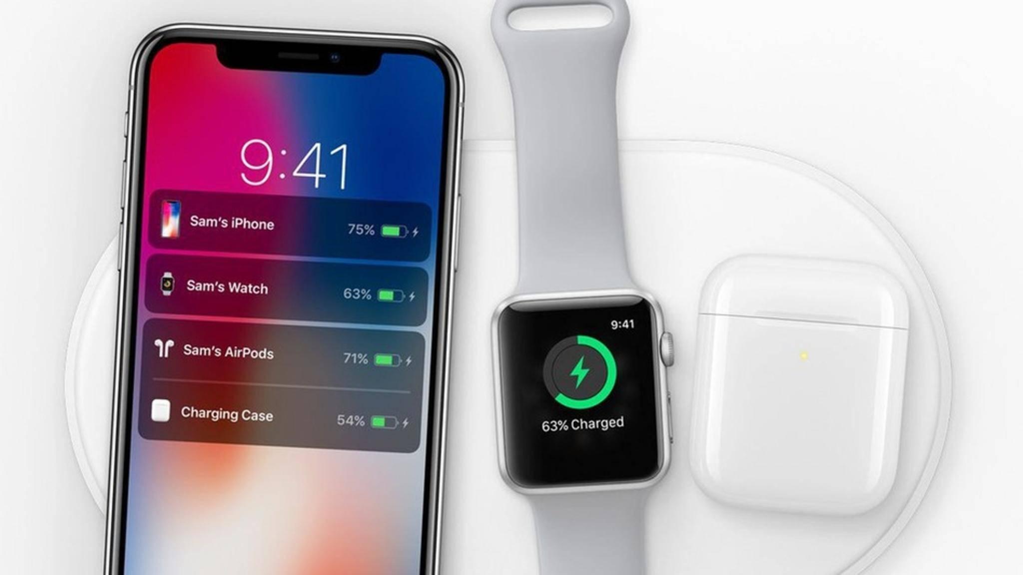 Schon früh wurde mit Wireless Charging für das iPhone X gerechnet.