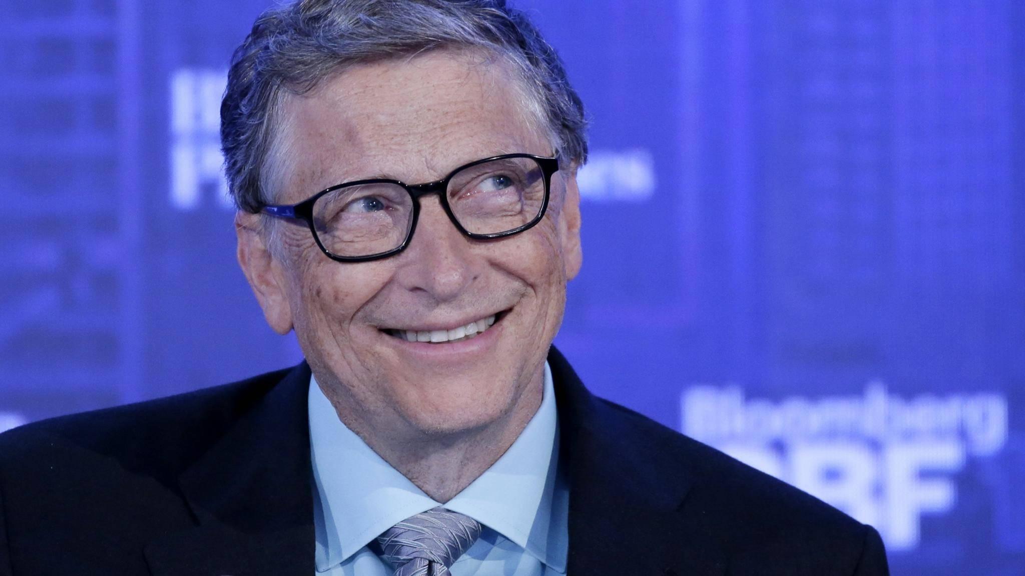 Bill Gates ist abtrünnig geworden und nutzt jetzt auch Android.