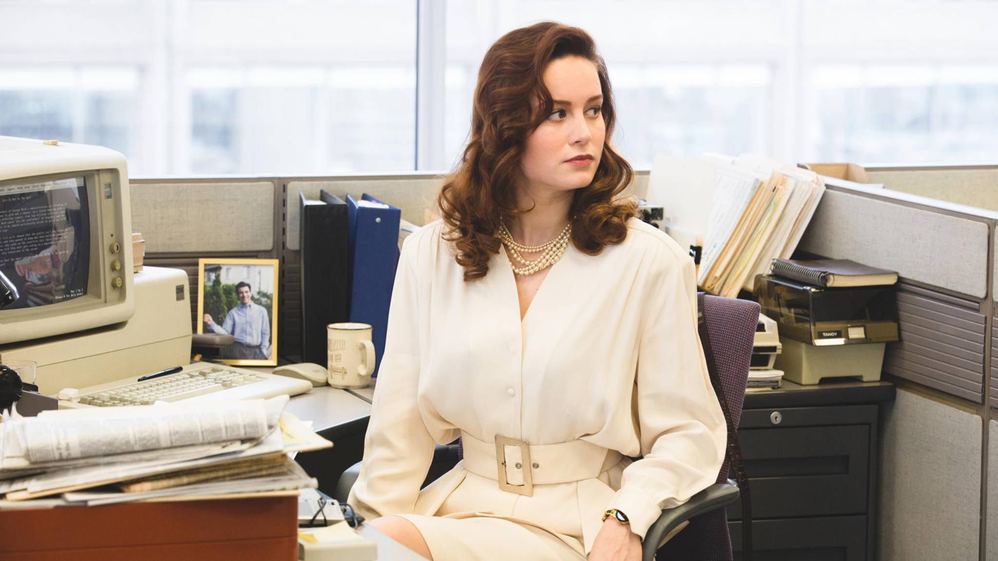 """In """"Captain Marvel"""" verschlägt es die Titelfigur (Brie Larson) in die 1990er-Jahre."""
