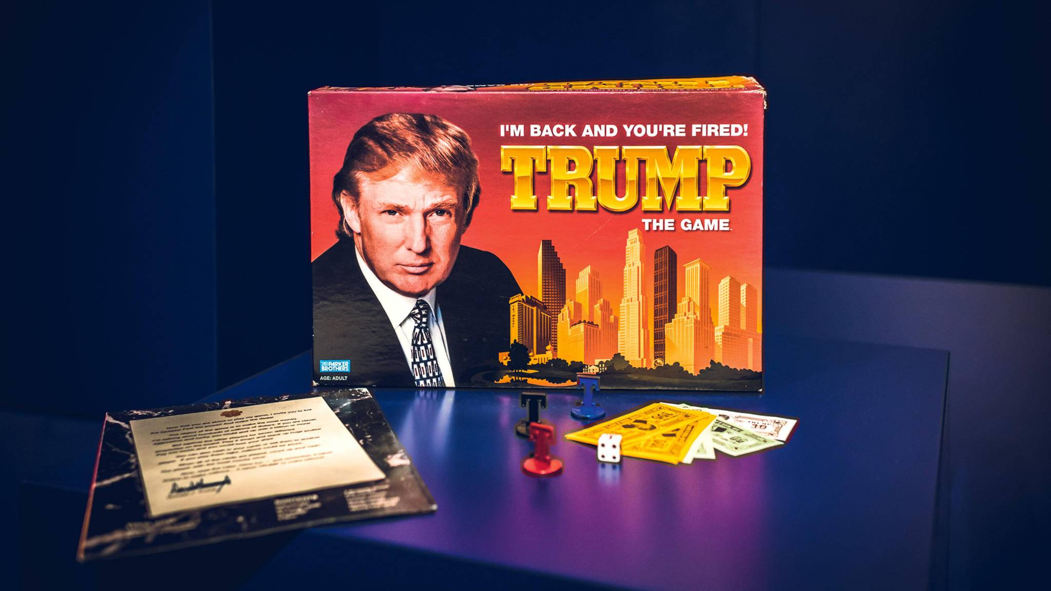 "Make Brettspiele great again! ""Trump – The Game"" war leider nur eine billige ""Monopoly""-Kopie."