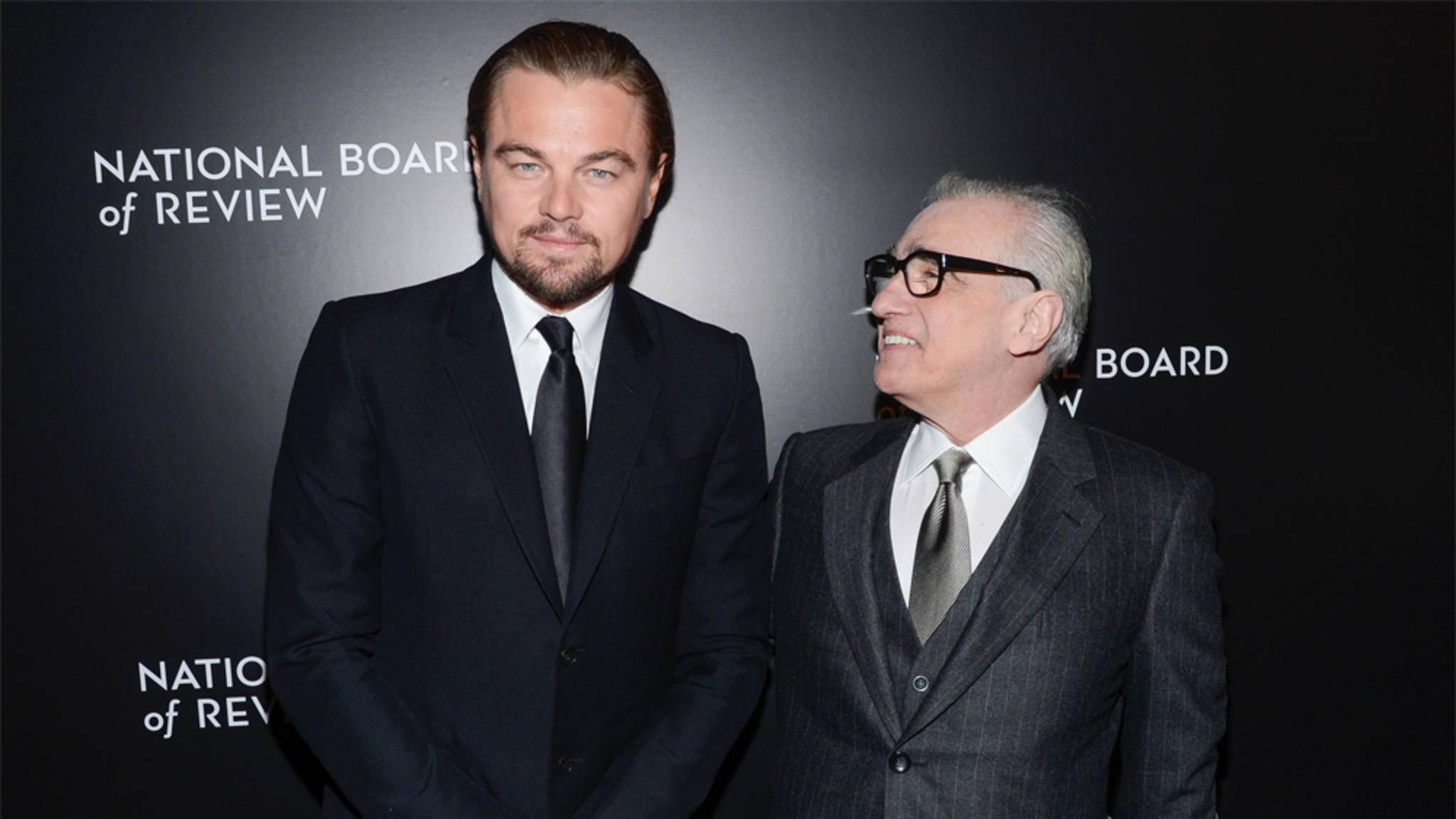 Zwei von einem Kaliber: Leonardo DiCaprio und Martin Scorsese arbeiten an einem neuen Film.