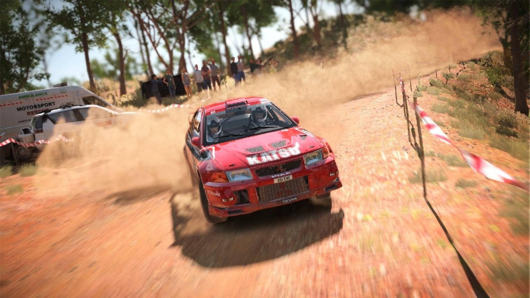 """Die """"Dirt""""-Spiele sind eine feste Größe im Racing-Genre."""