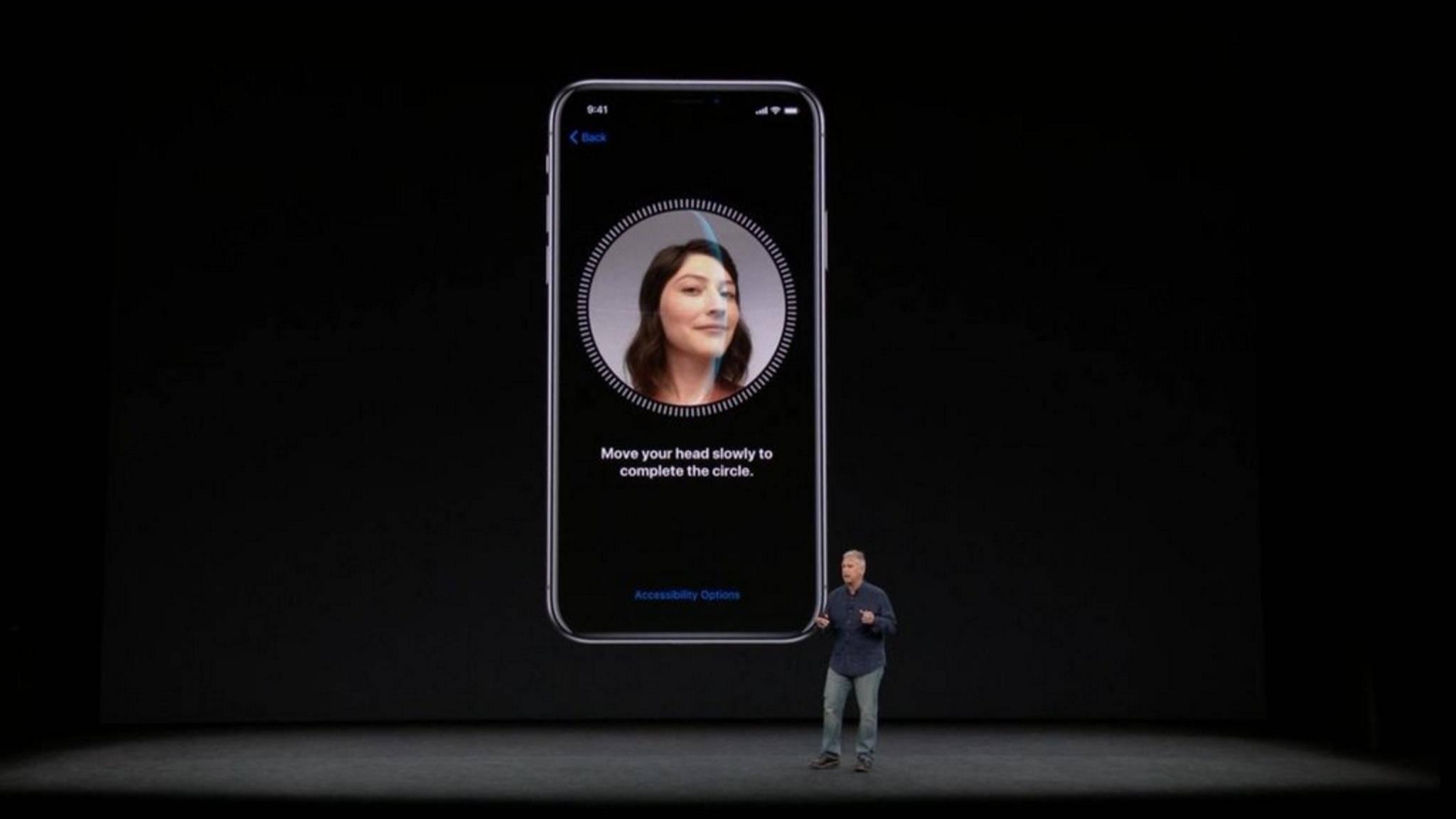 Apple wird Face-ID-Daten mit App-Entwicklern teilen.