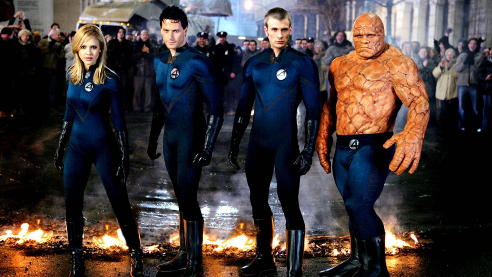 """Die """"Fantastic Four"""" (Foto: Verfilmung von 2005) könnten bald erneut auf der Leinwand landen."""