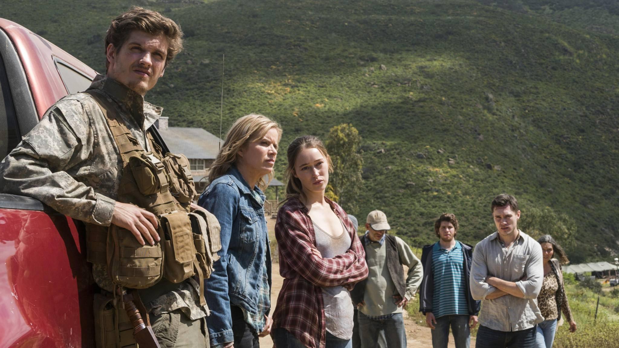 """Für einen dieser """"Fear the Walking Dead""""-Charaktere hat Staffel 3 ein überraschendes Ende gefunden."""