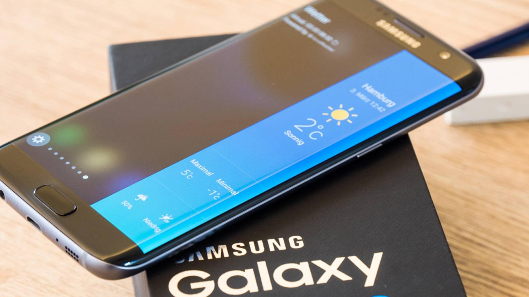 Das Samsung Galaxy S7 Edge könnte bald das User Interface des Note 8 erhalten.