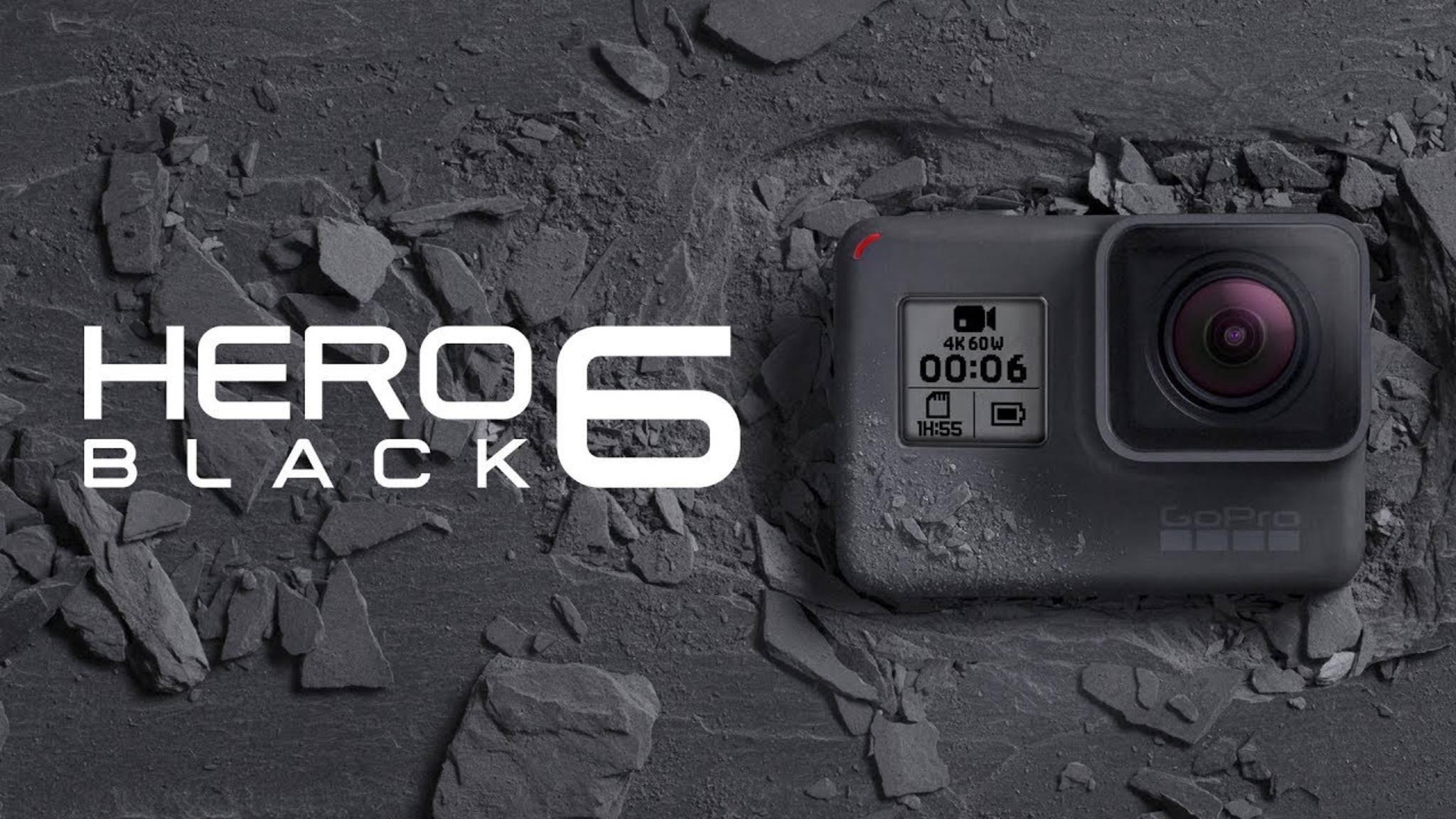 Das ist die neue GoPro Hero 6 Black.