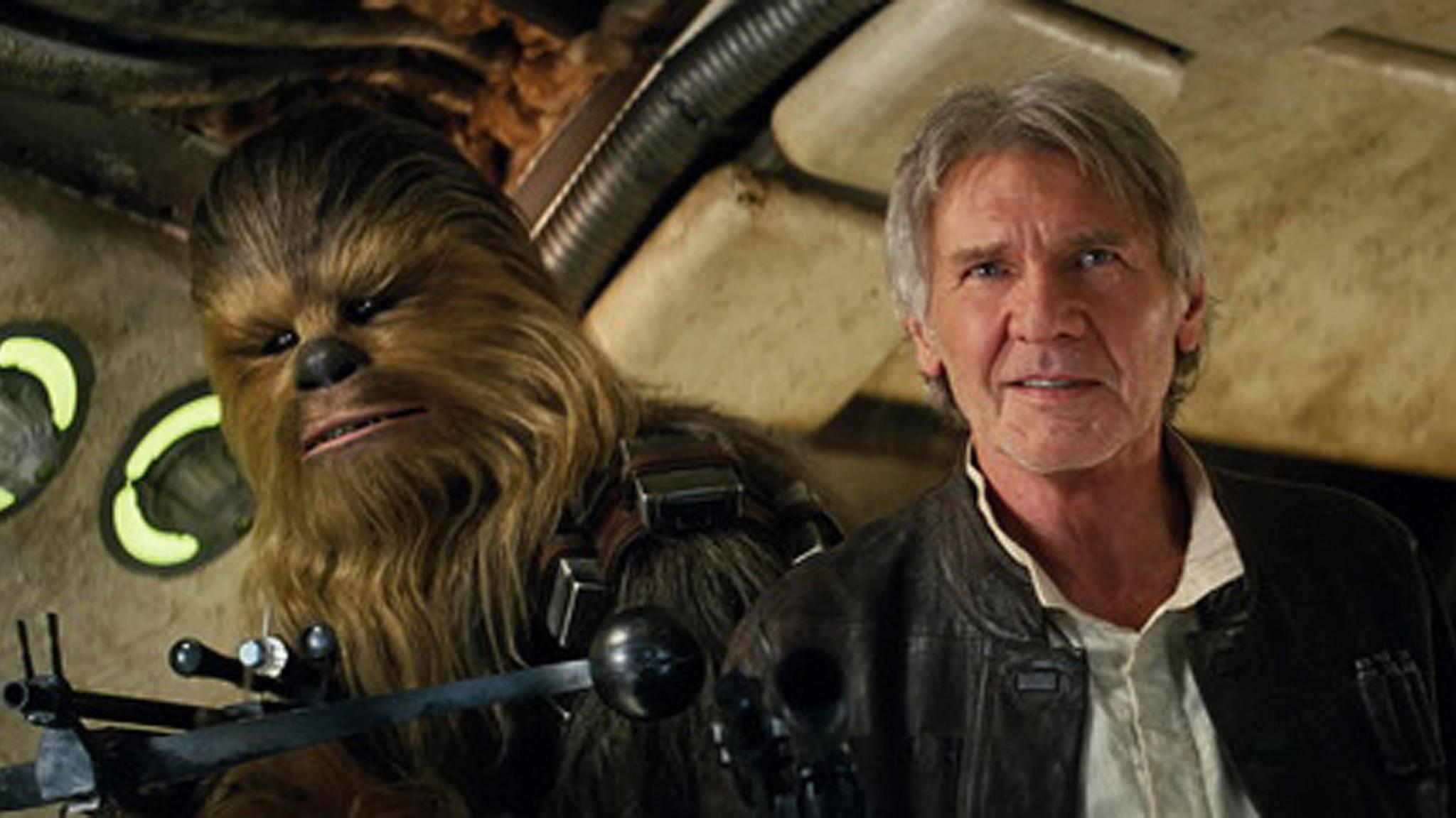 """Ein Wiedersehen mit Harrison Ford in künftigen """"Star Wars""""-Filmen wird es wohl nicht geben."""