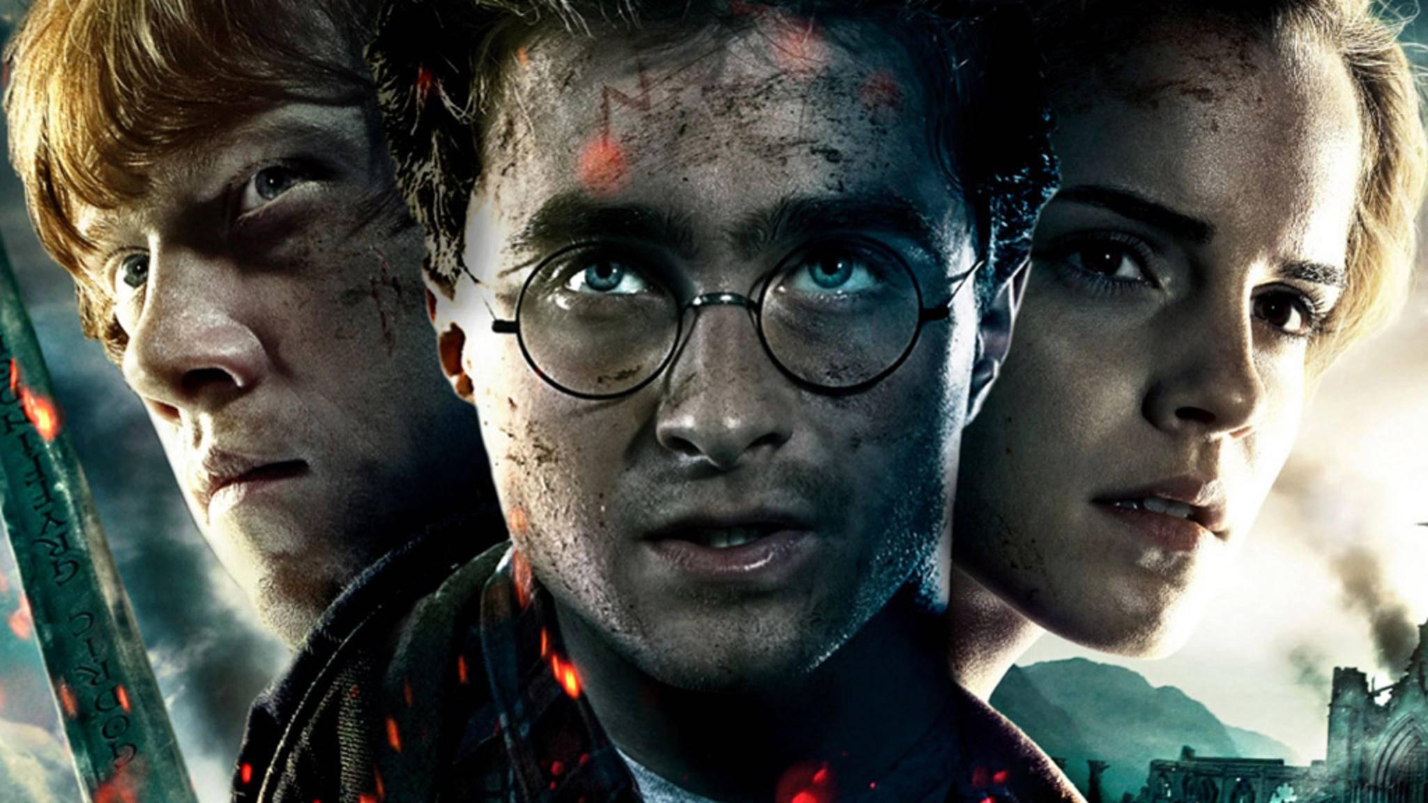 Ron, Harry und Hermine verzaubern uns aktuell nicht auf Netflix, dafür aber im Heimkino.