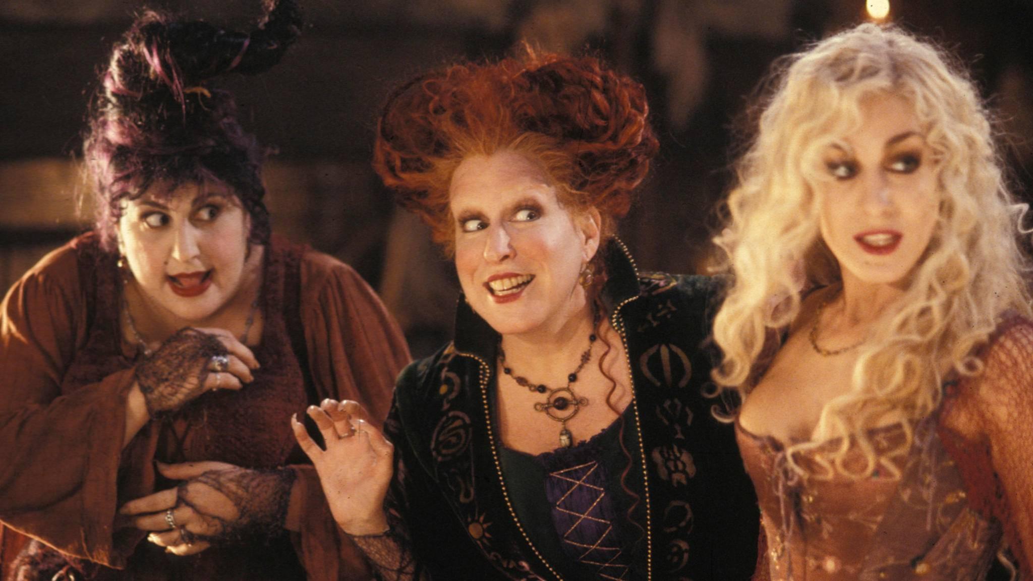 """Die Hexen von Salem lassen im """"Hocus Pocus""""-Remake bald wieder ihre Magie spielen."""