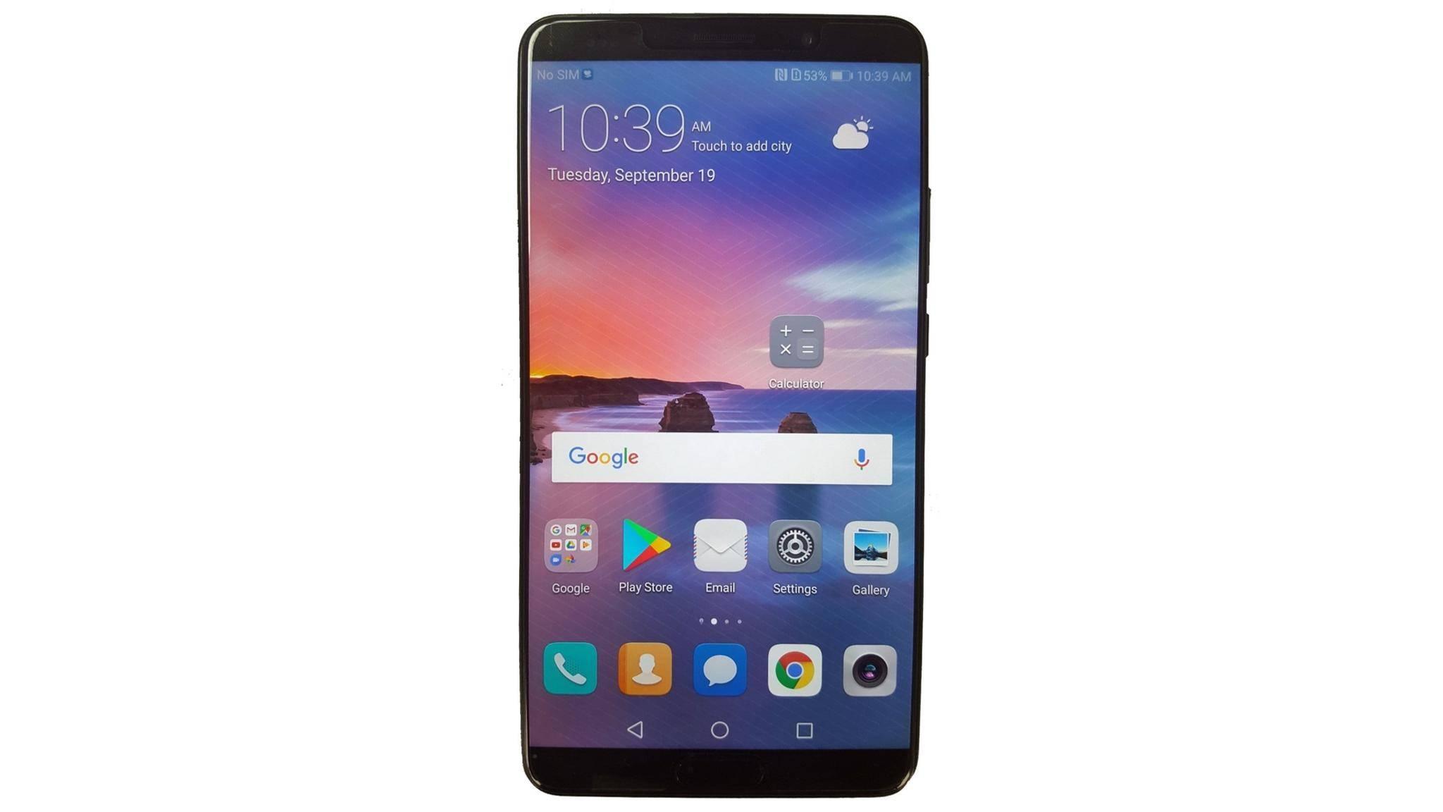 Das Mate 10 soll es mit dem Galaxy Note 8 aufnehmen.