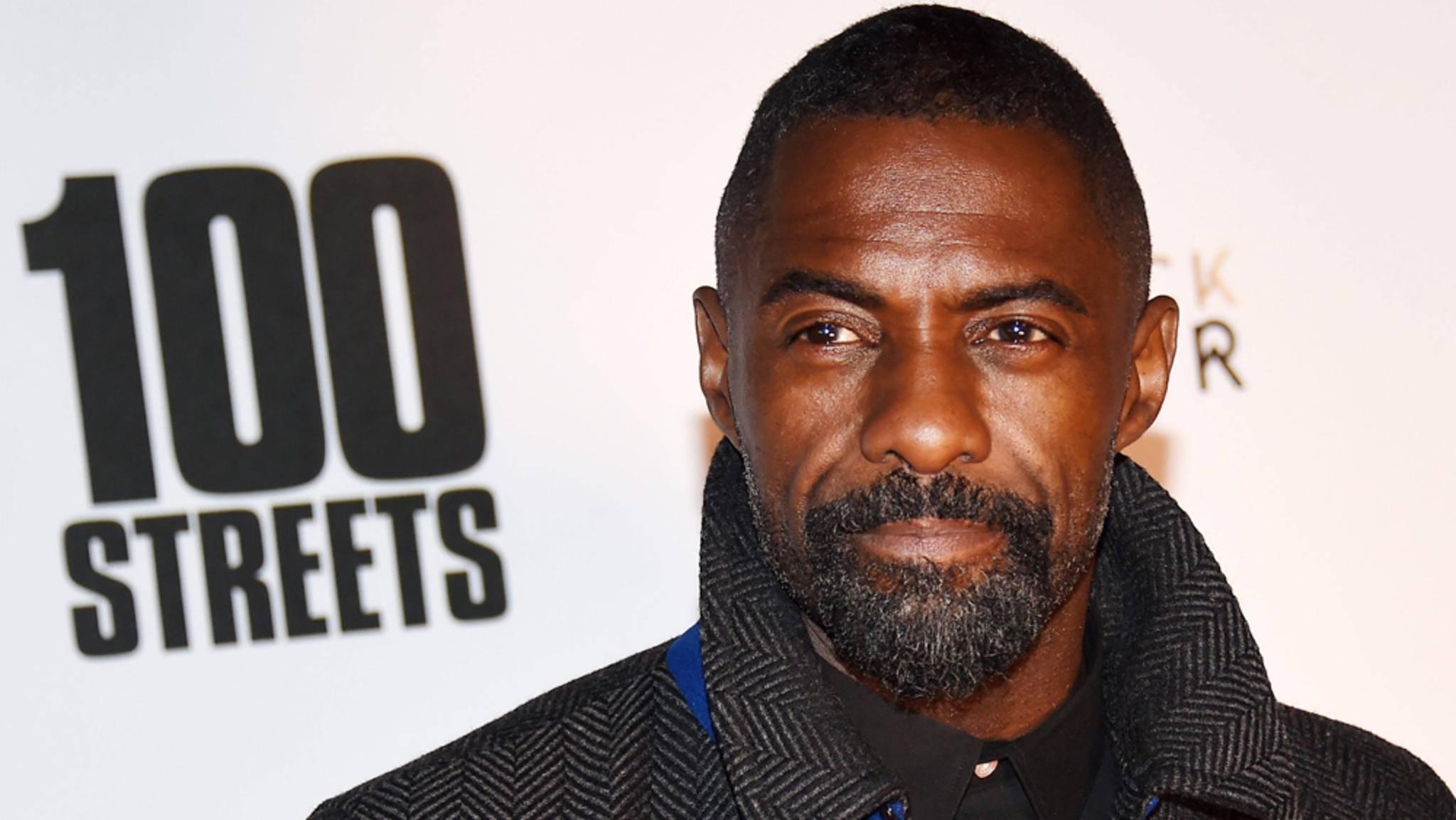 """Idris Elba macht sich keine Hoffnungen mehr auf """"James Bond""""."""
