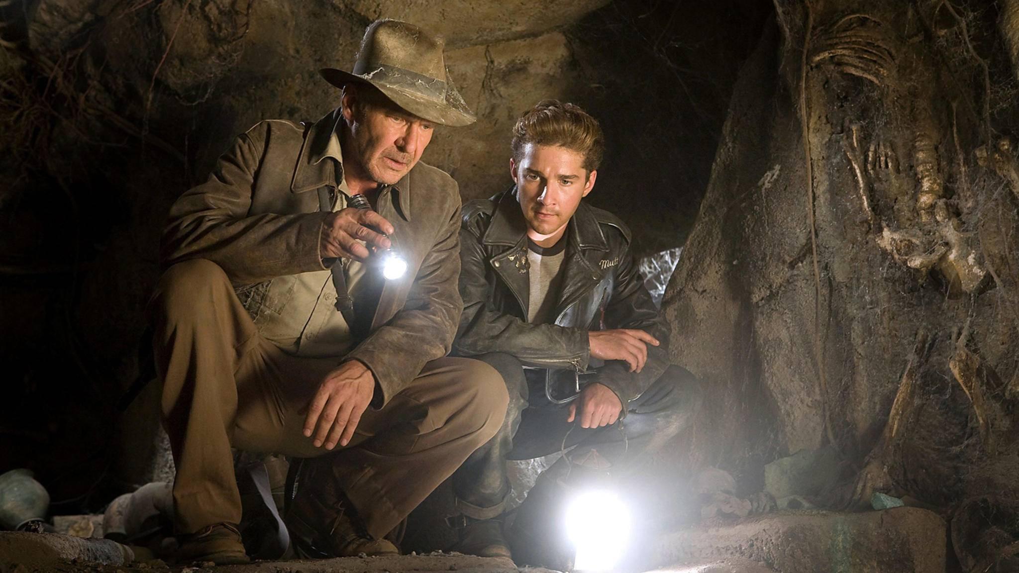 2008 standen Harrison Ford und Shia LaBeouf noch gemeinsam vor der Kamera.