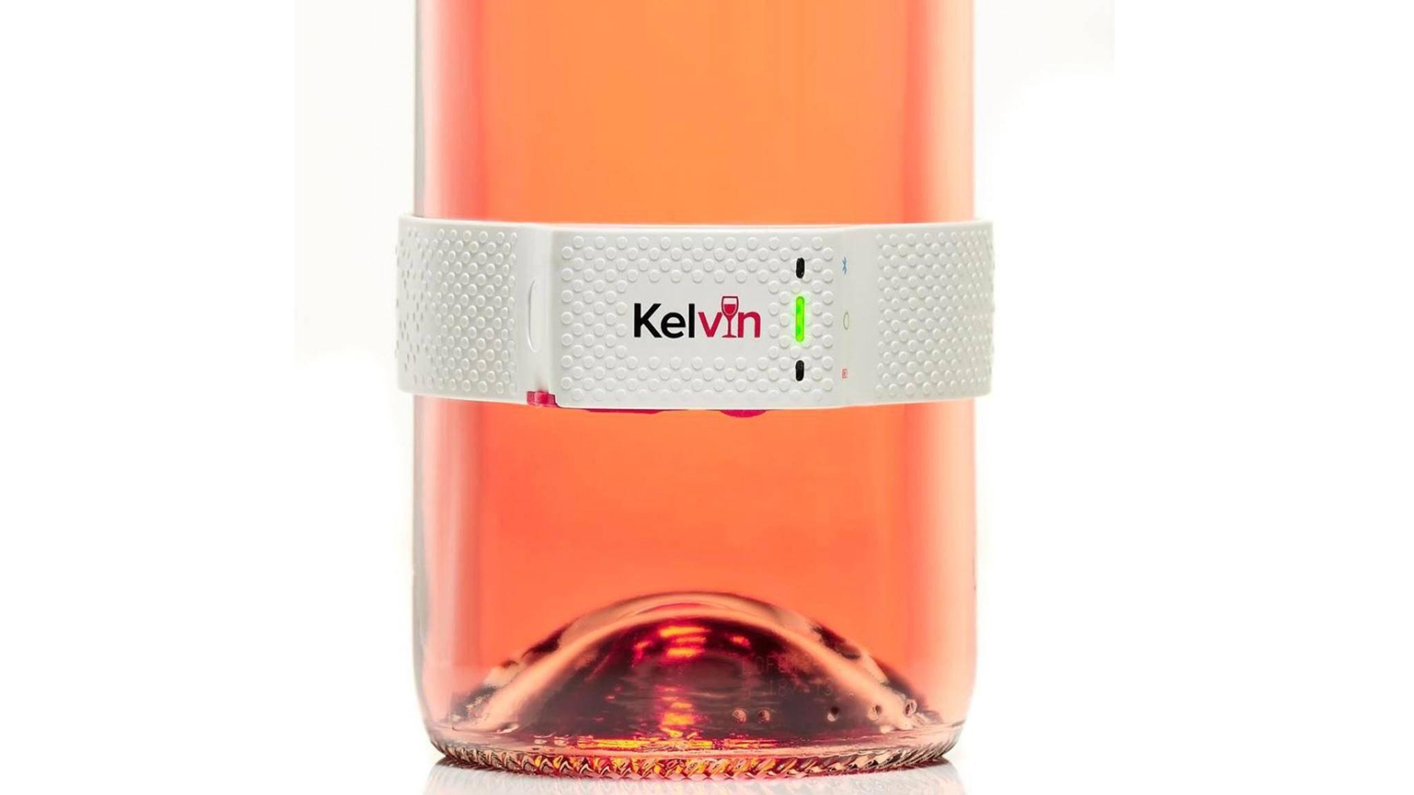 Ob Rotwein, Weißwein oder Rosé: Kelvin K2 kennt die ideale Temperatur für den guten Tropfen.