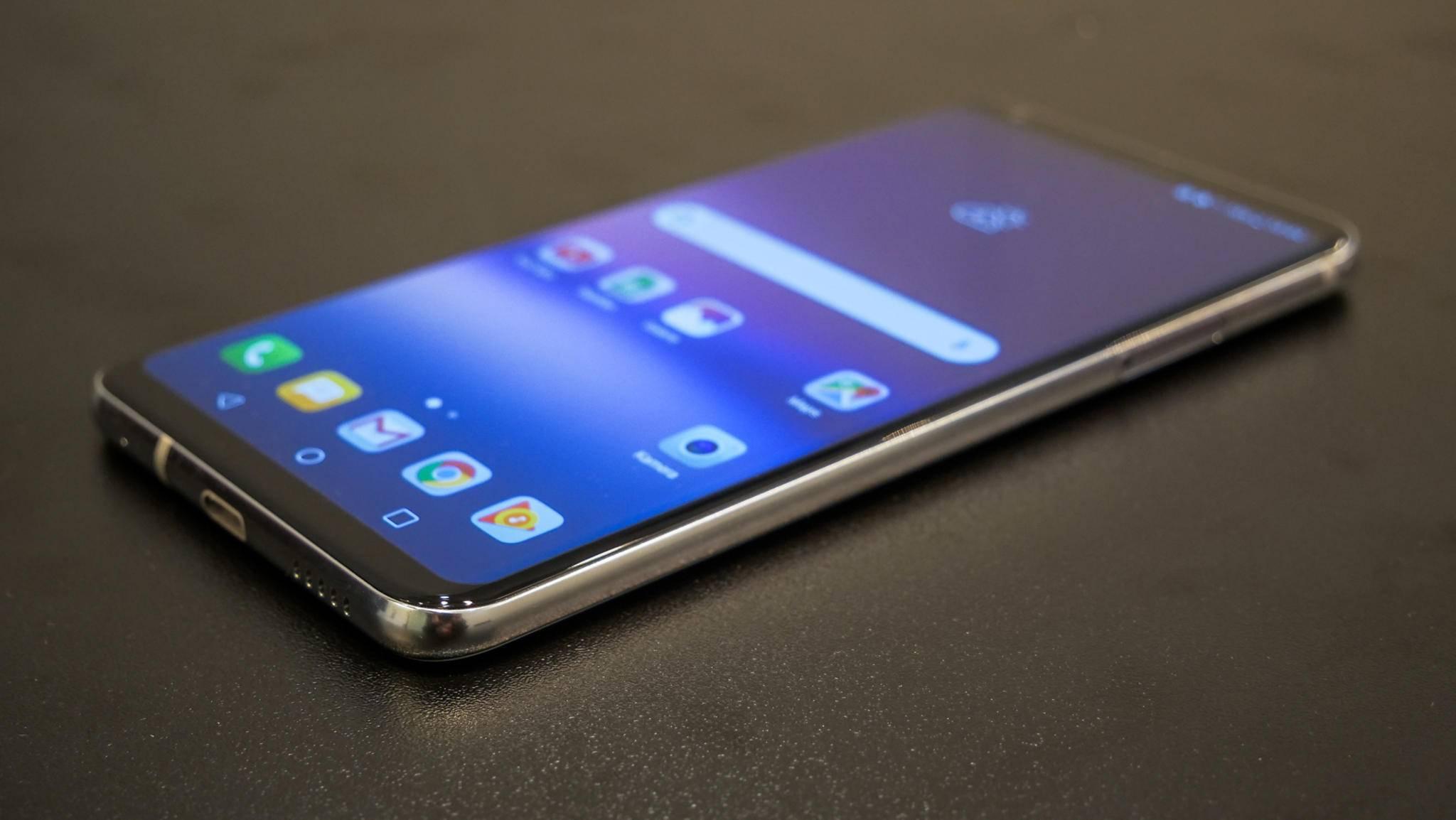Das LG V30 bietet eine neue Schnellladefunktion für kabelloses Laden.