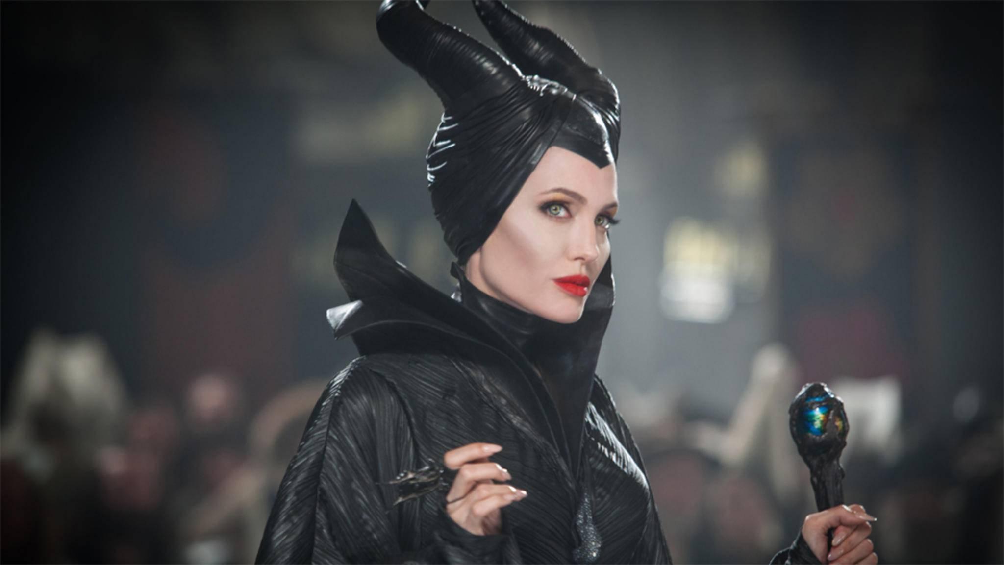 Als dunkle Fee Maleficent versetzte Angelina Jolie ein ganzes Königreich in Angst und Schrecken.