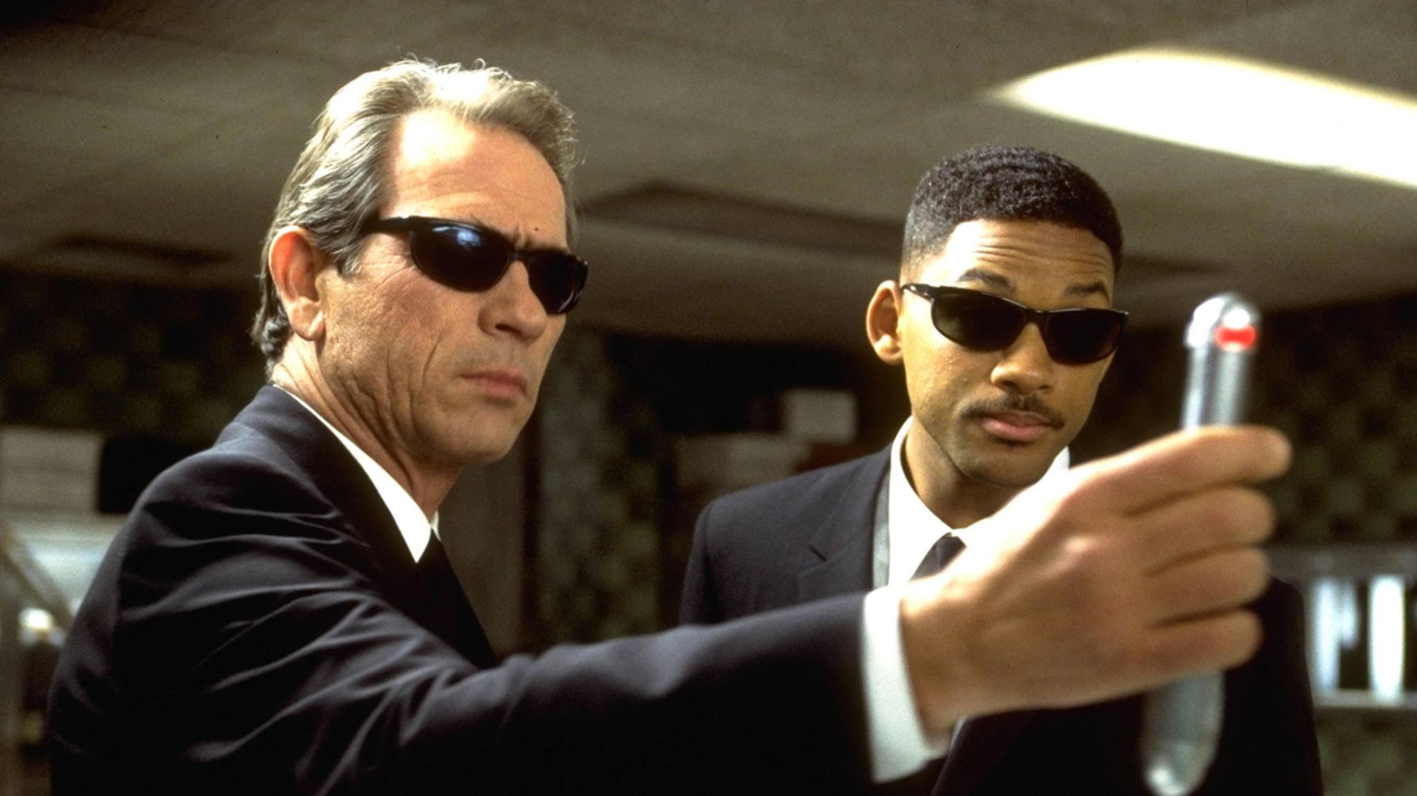 """Bitte nicht blinzeln: """"Die Men in Black"""" kehren auf die Kinoleinwände zurück."""