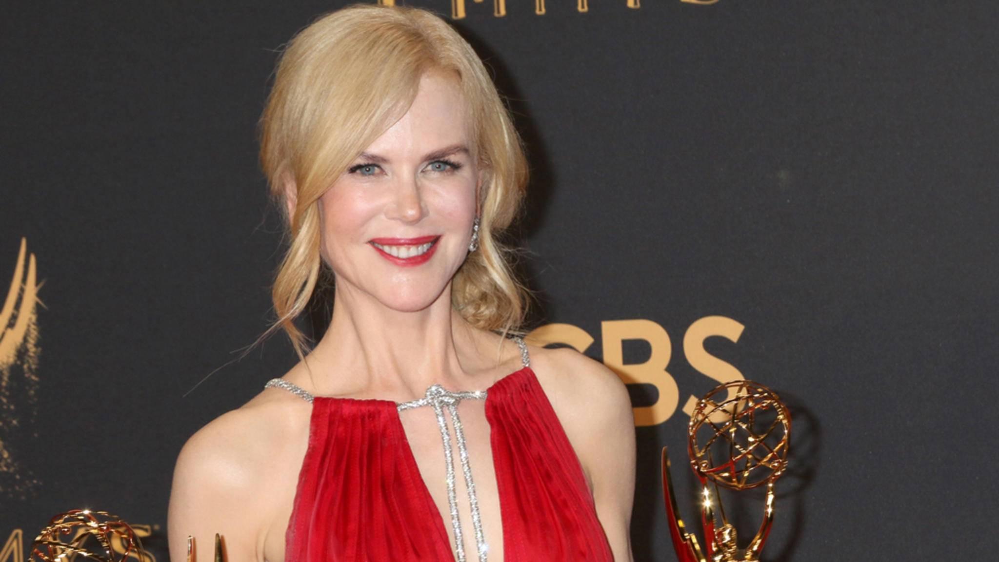 Nicole Kidman gehörte bei den Emmys 2017 zu den Gewinnern des Abends – und hatte eine wichtige Botschaft.