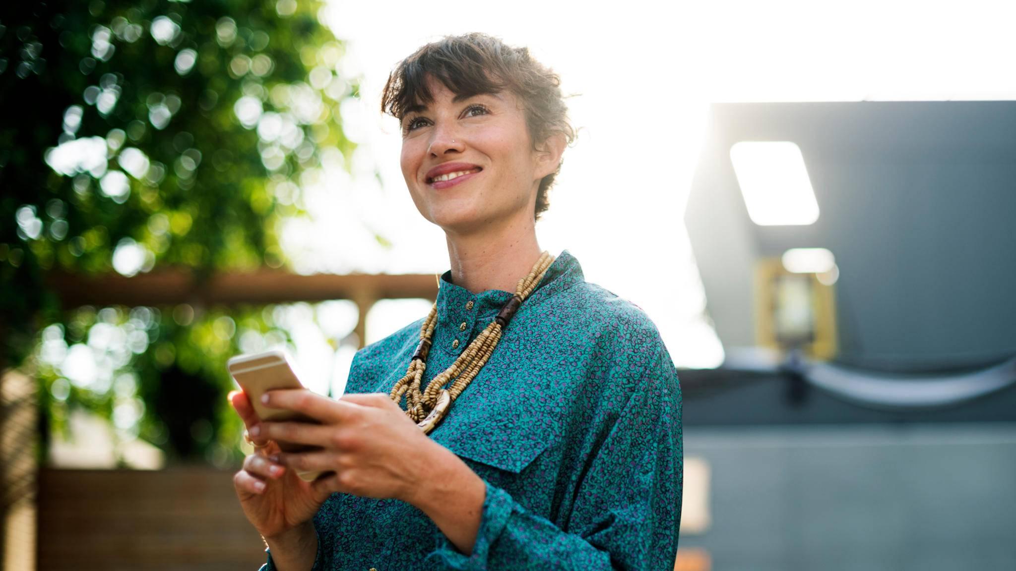 Apps können einen sowohl stressen als auch glücklich machen.