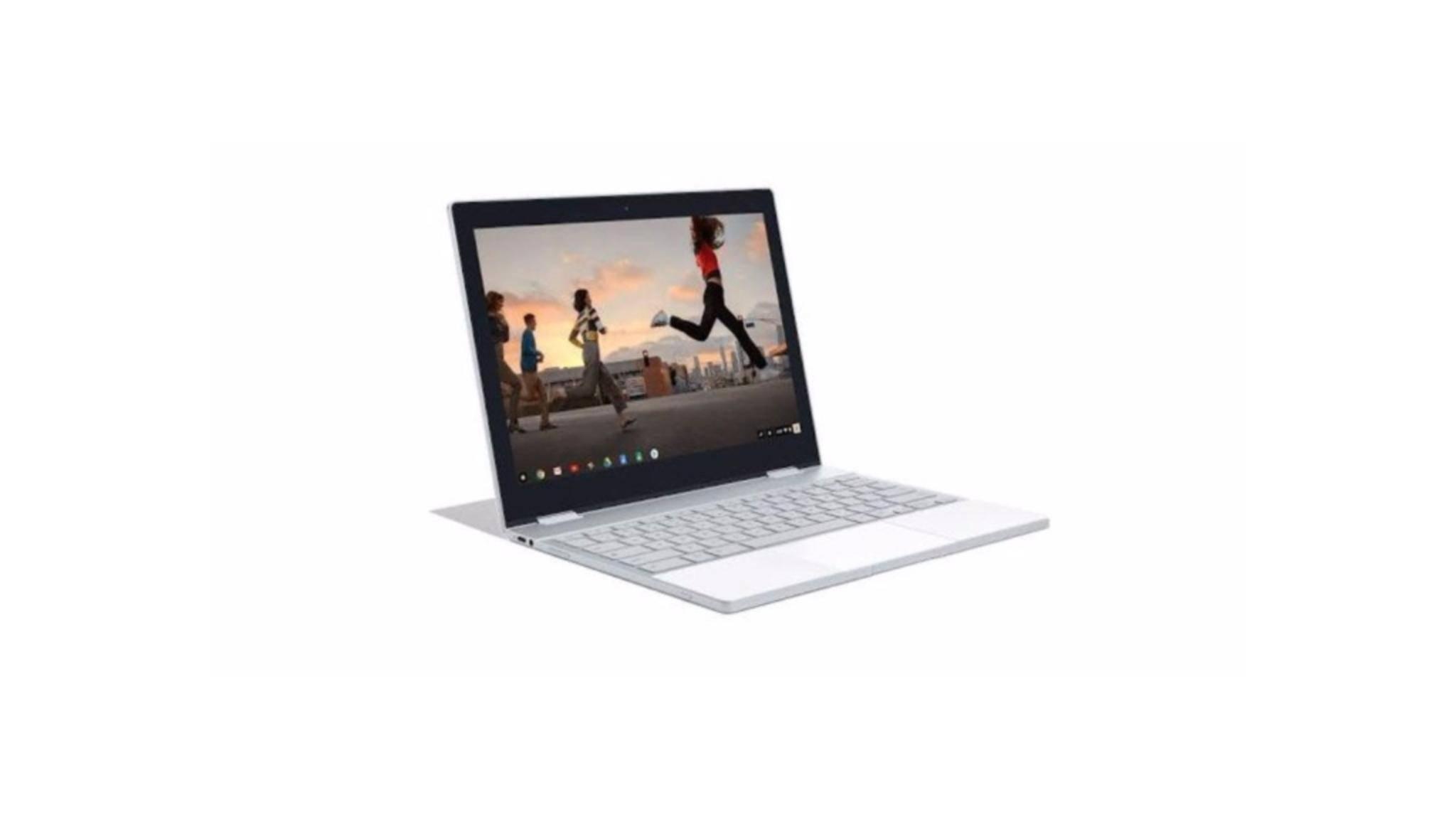 Mit dem Pixelbook dürfte Google ein edles Aluminium-Chromebook in petto haben.