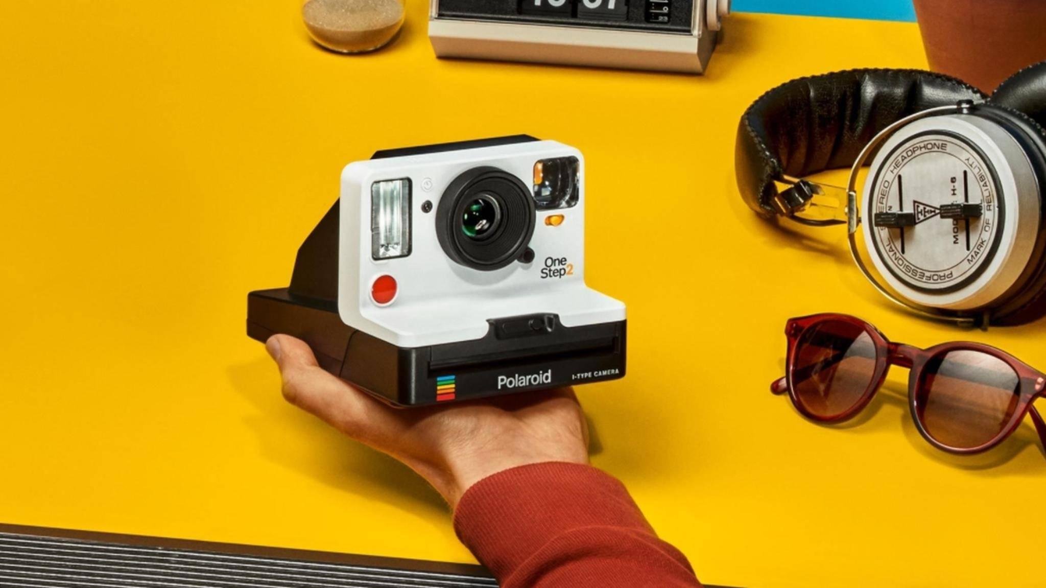 Die Polaroid OneStep 2 verzichtet auf eine Smartphone-Verbindung.