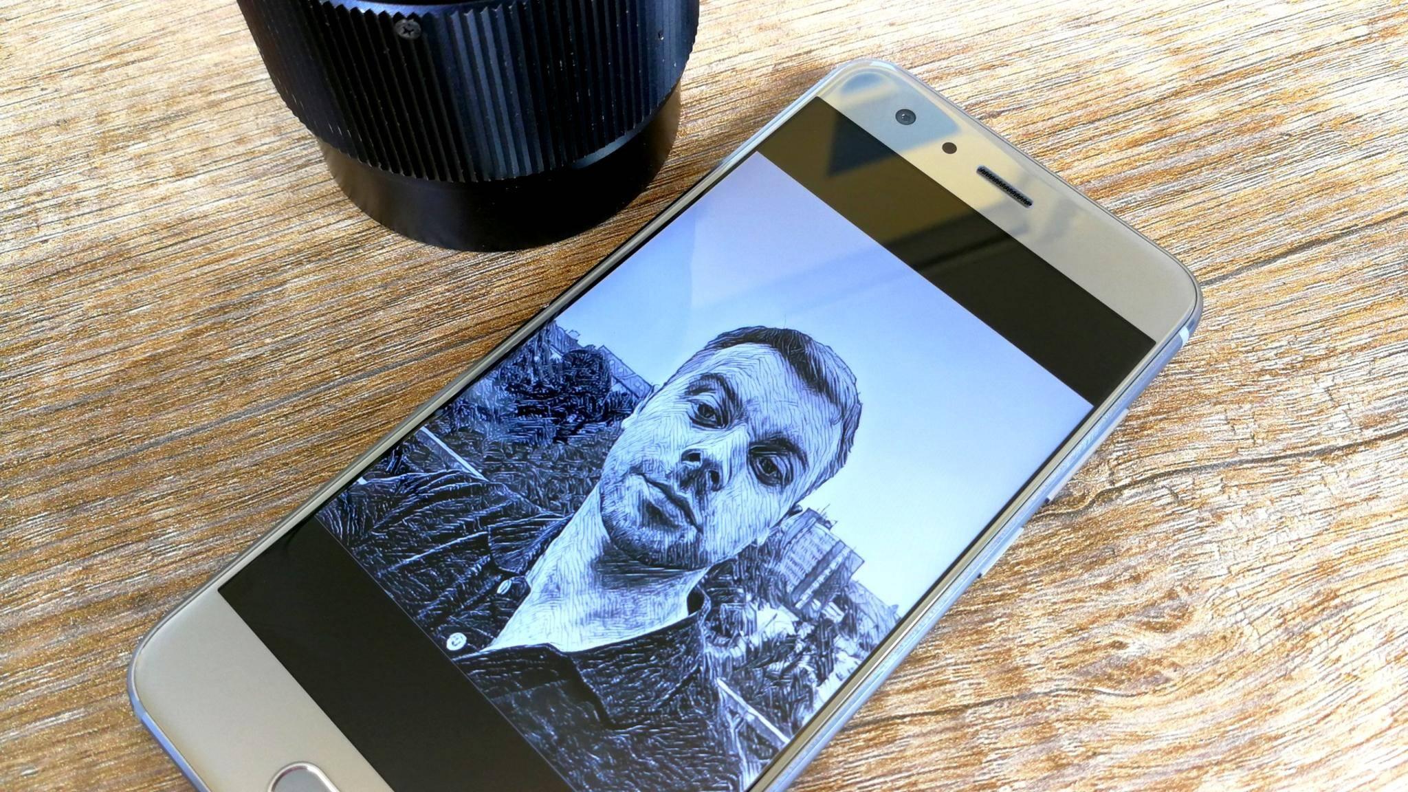 Zahlreiche Apps eignen sich zur Bearbeitung von Selfies.