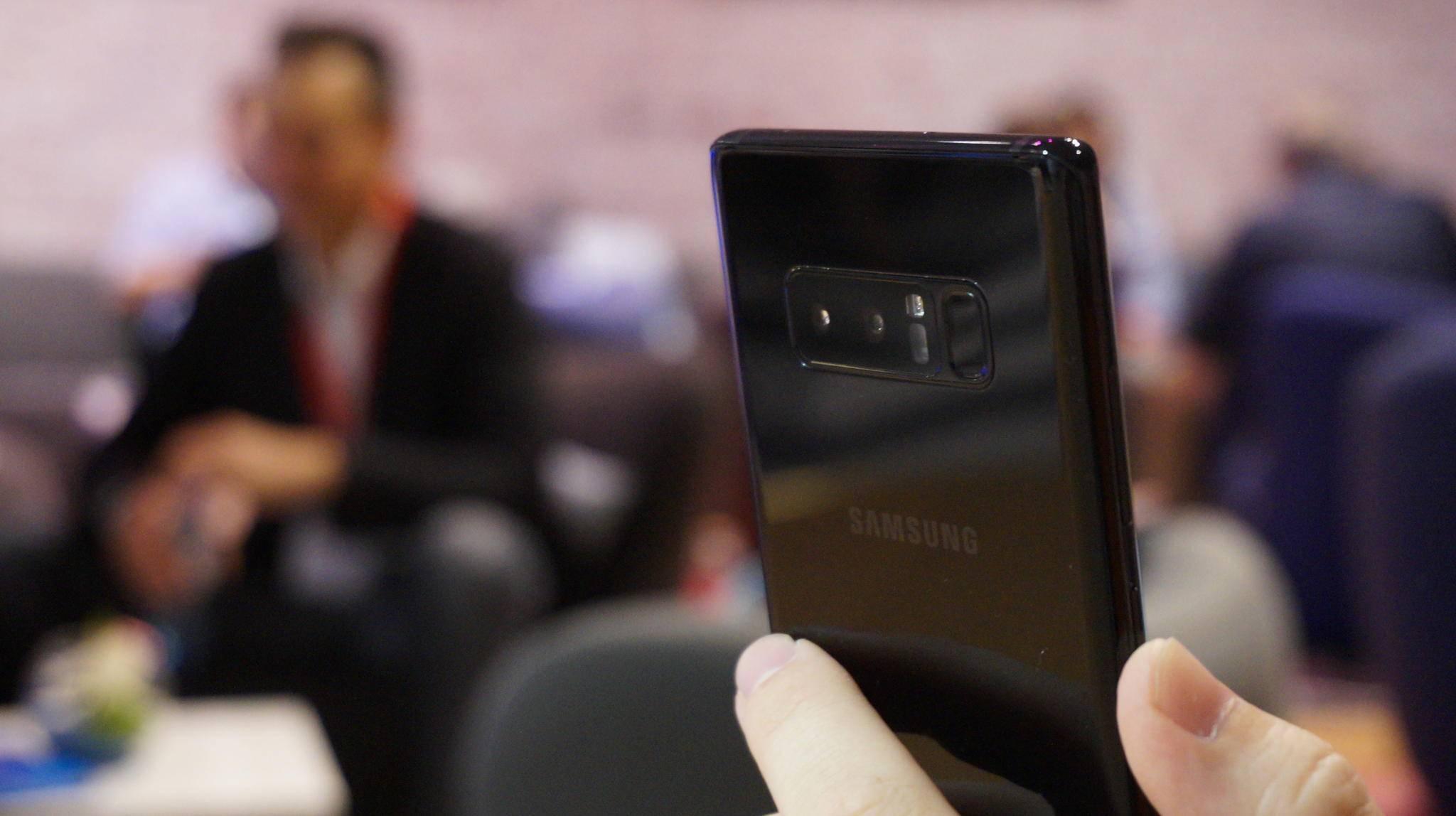 Die Kamera des Note 8 soll auch bald 4K mit bis zu 60 fps aufnehmen können.