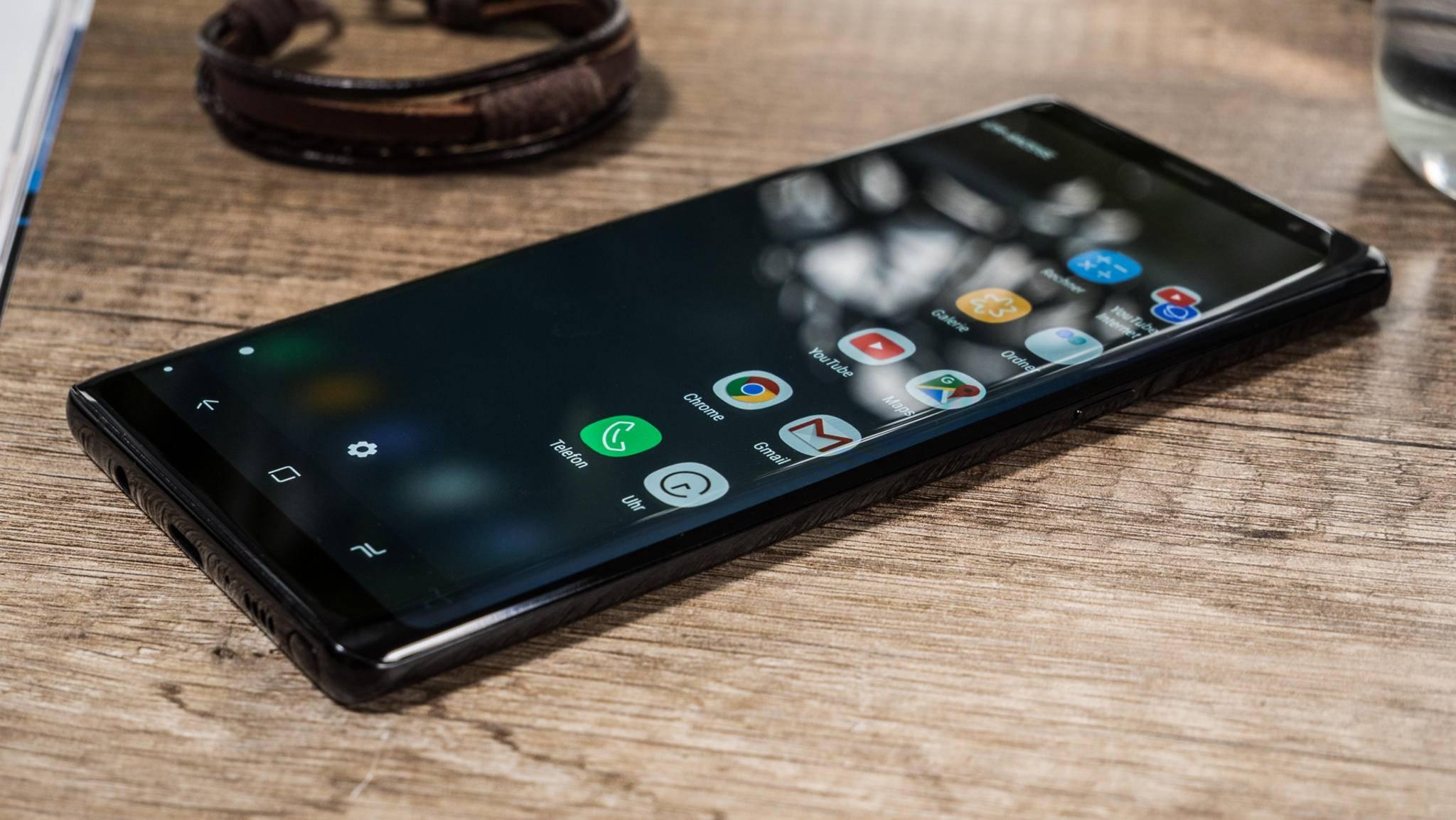Nicht nur das Galaxy Note 8 scheint von dem Problem betroffen zu sein.
