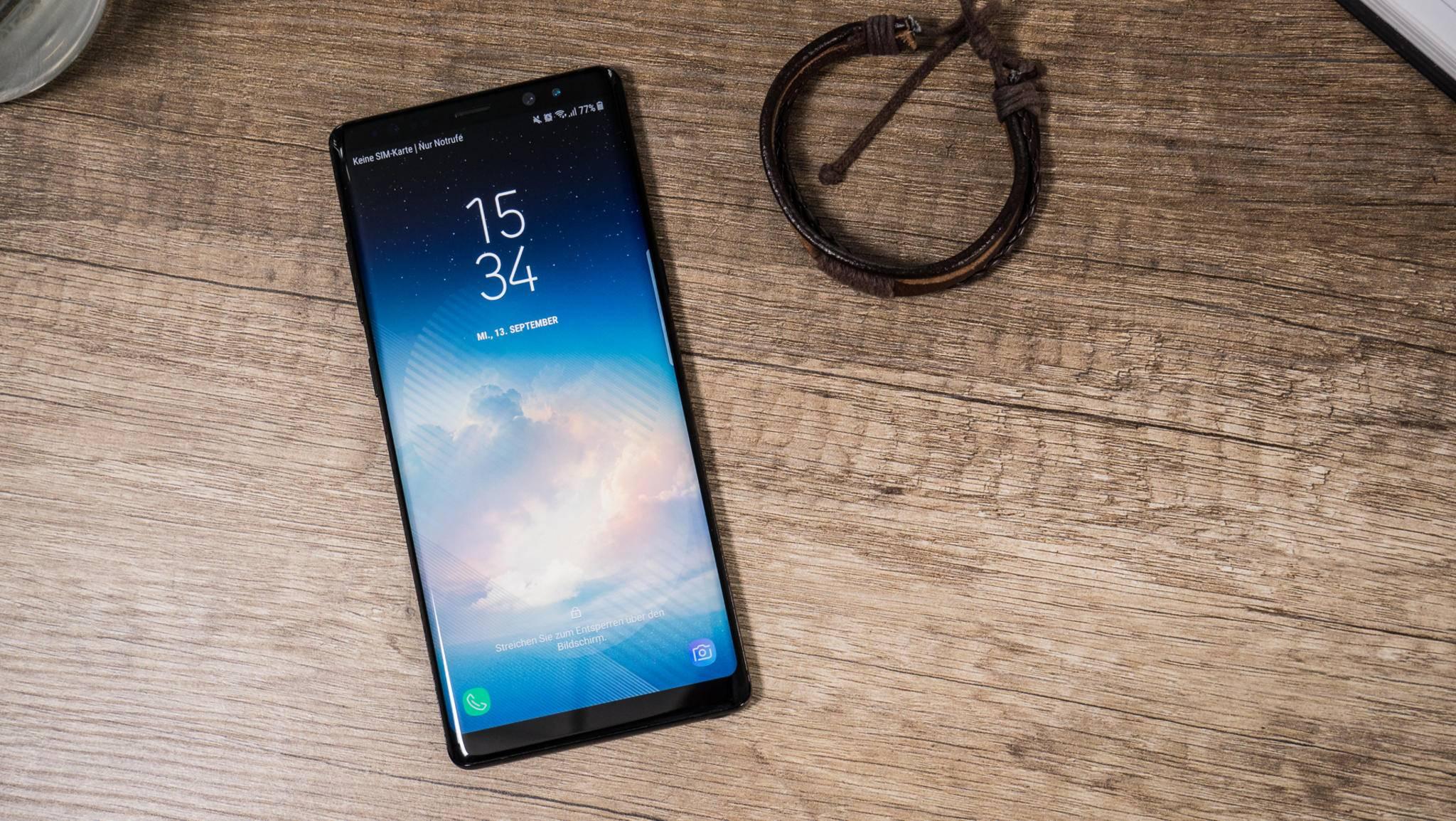 Noch ist unklar, ob das Galaxy Note 8 wirklich ein großes Akku-Problem hat.