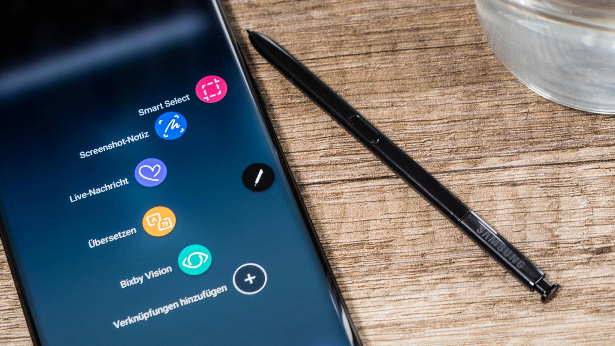 Ein Nachfolgemodell des Galaxy Note 9 (im Bild) soll einen größeren Akku bieten.