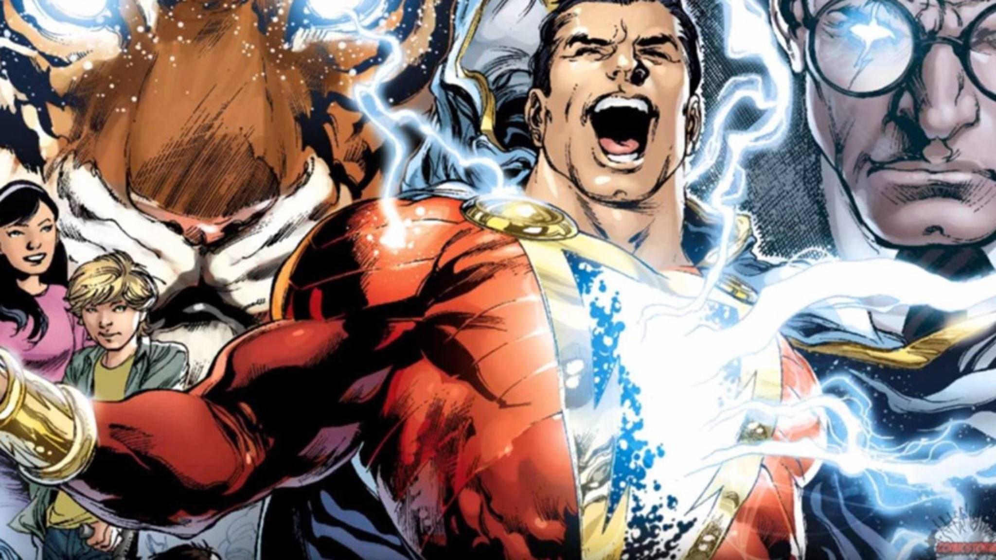 """Billy Batson muss nur das magische Wort """"Shazam"""" rufen, und schon stehen ihm göttliche Kräfte zur Verfügung."""