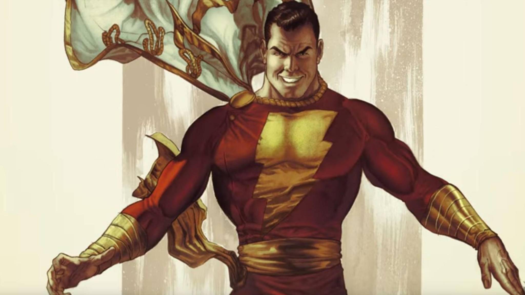 """Zwei Schauspieler scheinen sich einen finalen Kampf um die Rolle des Captain Marvel in DCs """"Shazam"""" zu liefern."""