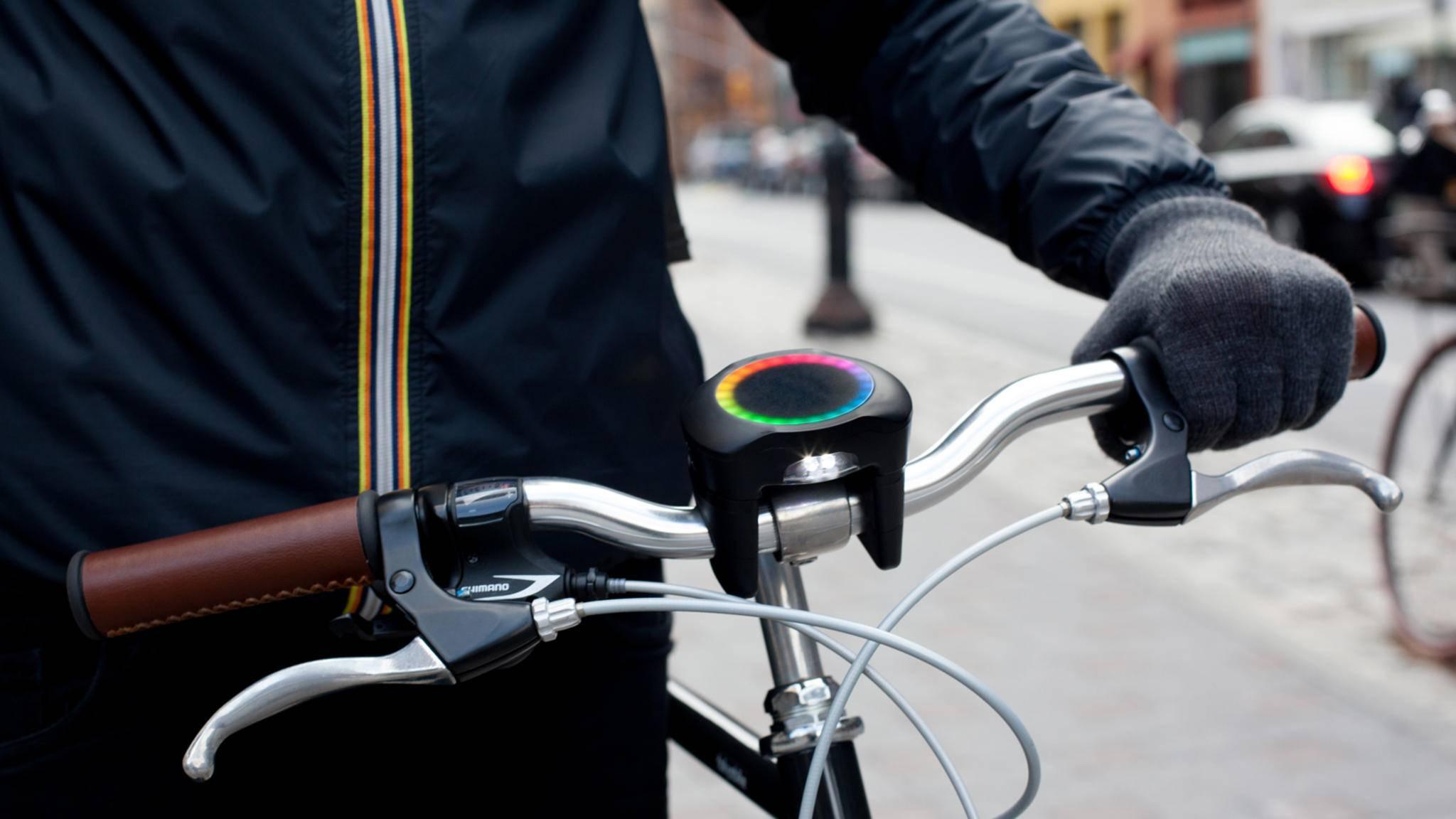 Ein ganz normales Fahrrad verwandelt sich dank SmartHalo in ein smartes Bike.