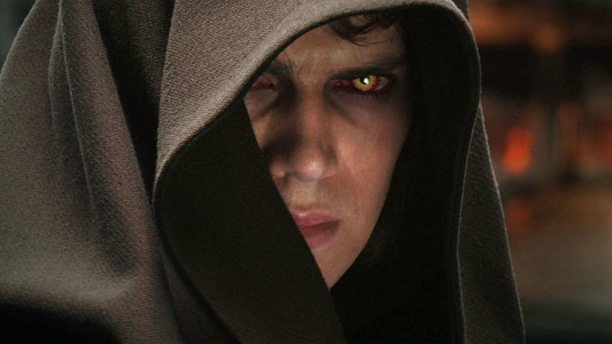"""Der Jedi Anakin Skywalker verfällt in """"Star Wars"""" der dunklen Seite der Macht."""