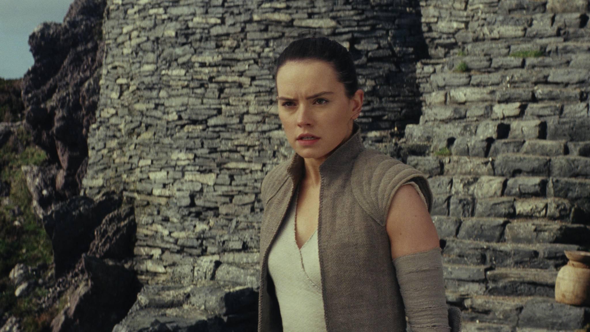 """Die Ausbildung von Rey in """"Die letzten Jedi"""" braucht offenbar vor allem eines: jede Menge Zeit."""