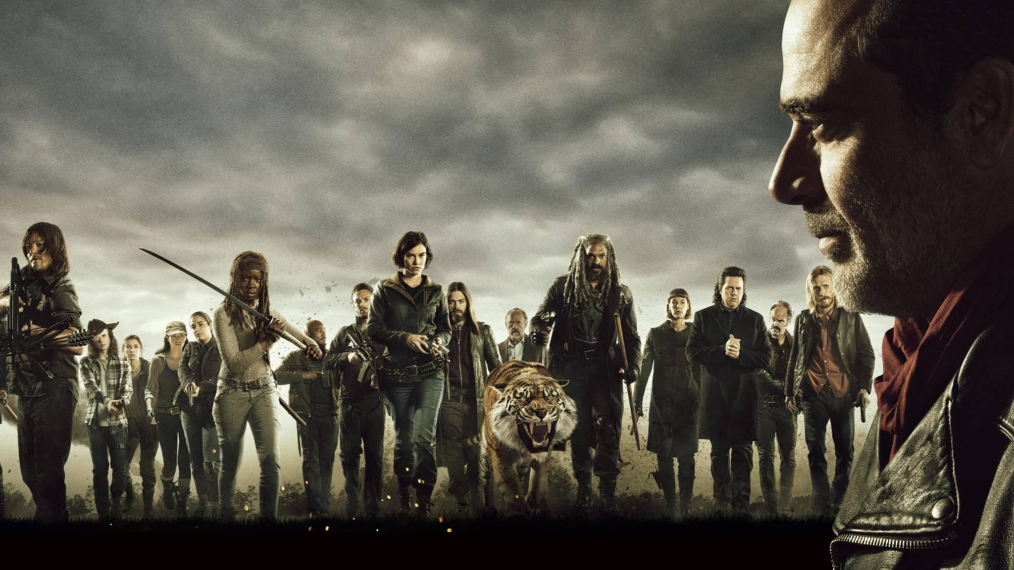 Der All-out-War zwischen Negan und den vereinten Communities steht bevor.