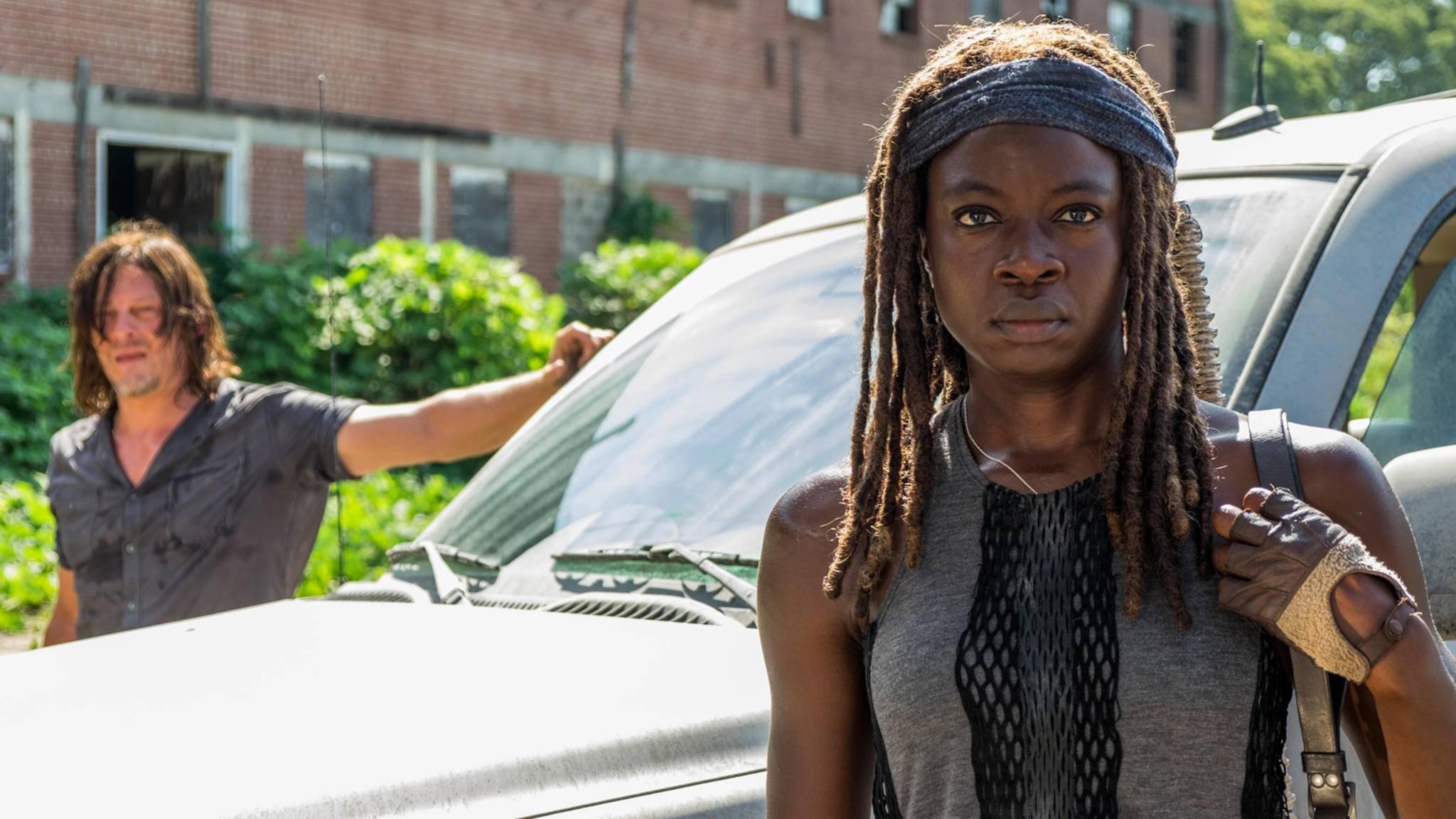 """Danai Gurira teasert einige Überraschungen für Staffel 8 von """"The Walking Dead"""" an."""
