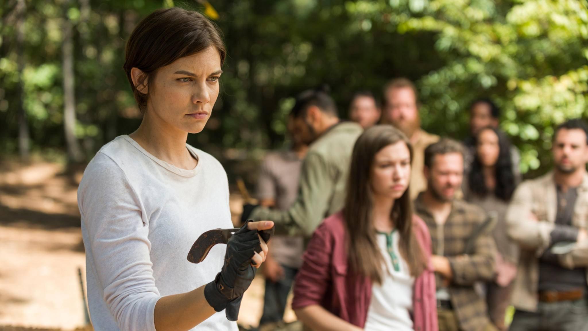 """Wird Maggie vielleicht schon in Staffel 8 von """"The Walking Dead"""" Mama?"""